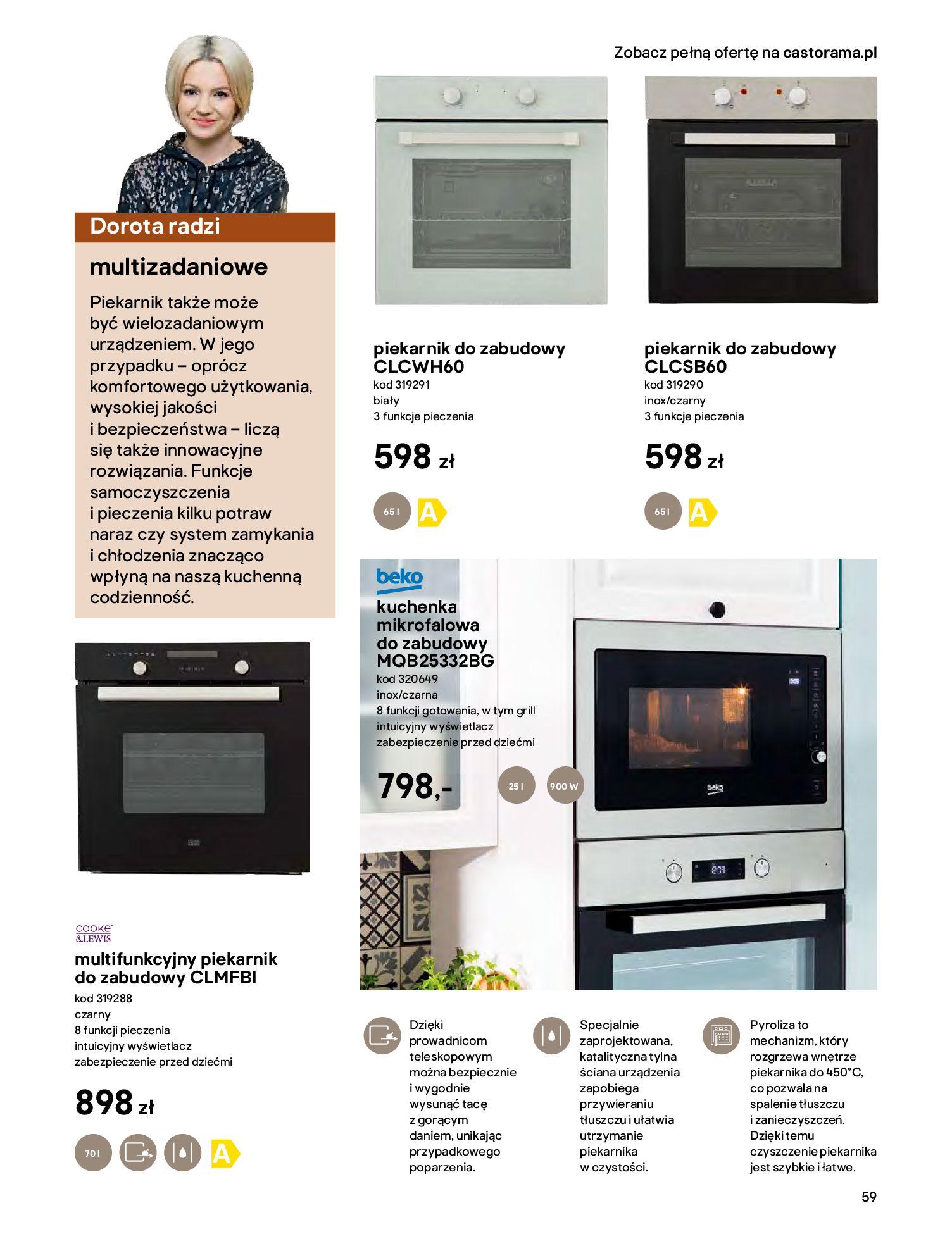 Gazetka Castorama - Katalog Kuchnie 2020-14.04.2020-31.12.2020-page-59