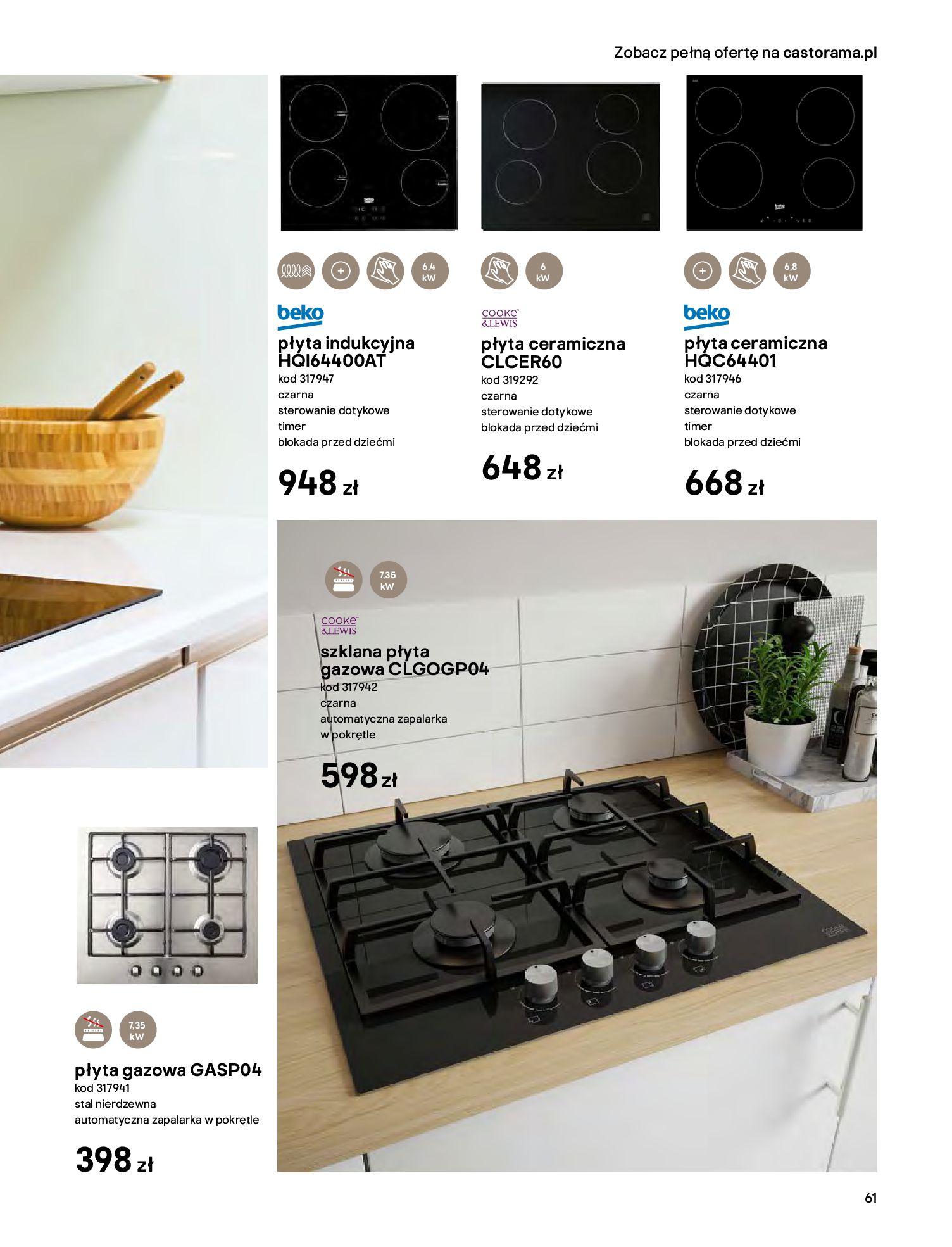Gazetka Castorama - Katalog Kuchnie 2020-14.04.2020-31.12.2020-page-61