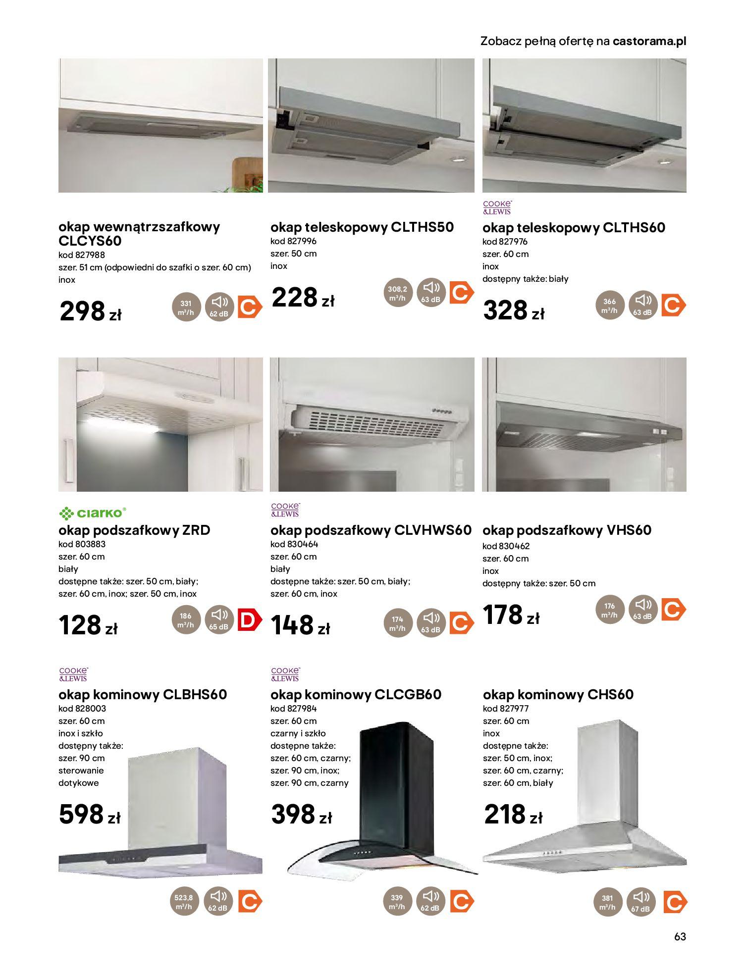 Gazetka Castorama - Katalog Kuchnie 2020-14.04.2020-31.12.2020-page-63