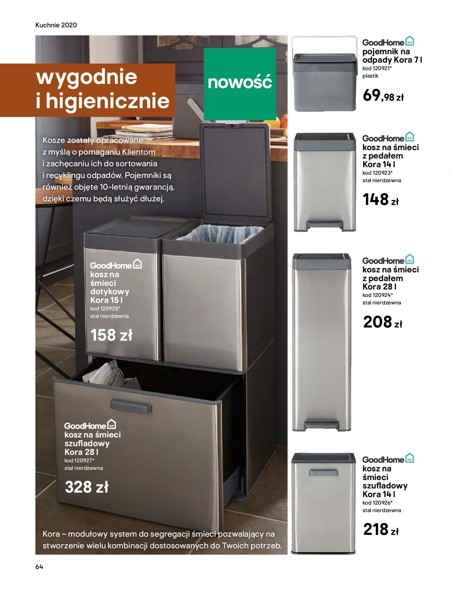 Gazetka Castorama - Katalog Kuchnie 2020-14.04.2020-31.12.2020-page-64