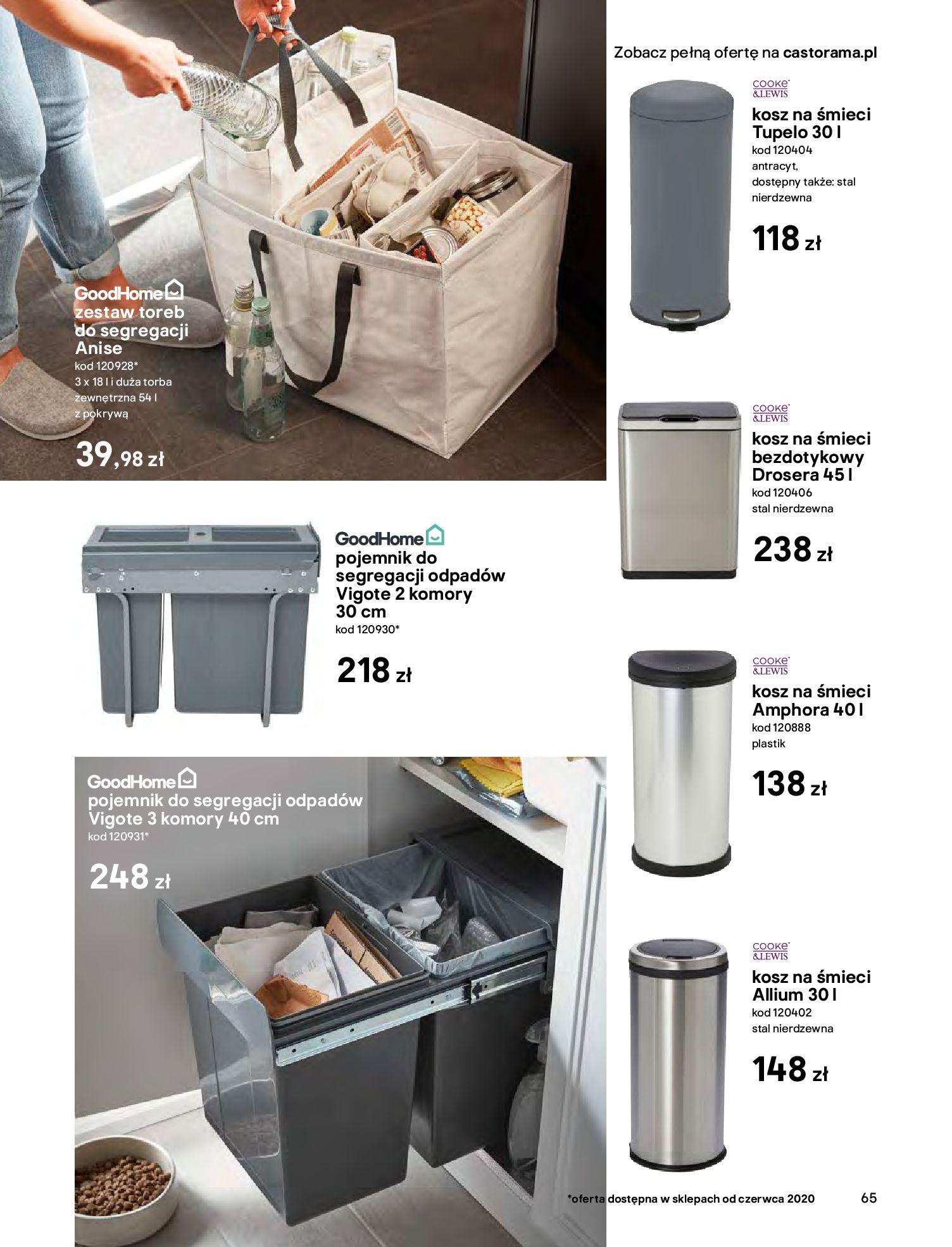 Gazetka Castorama - Katalog Kuchnie 2020-14.04.2020-31.12.2020-page-65