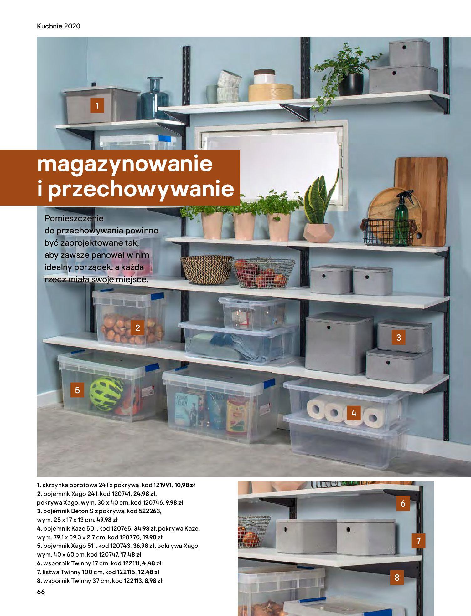 Gazetka Castorama - Katalog Kuchnie 2020-14.04.2020-31.12.2020-page-66