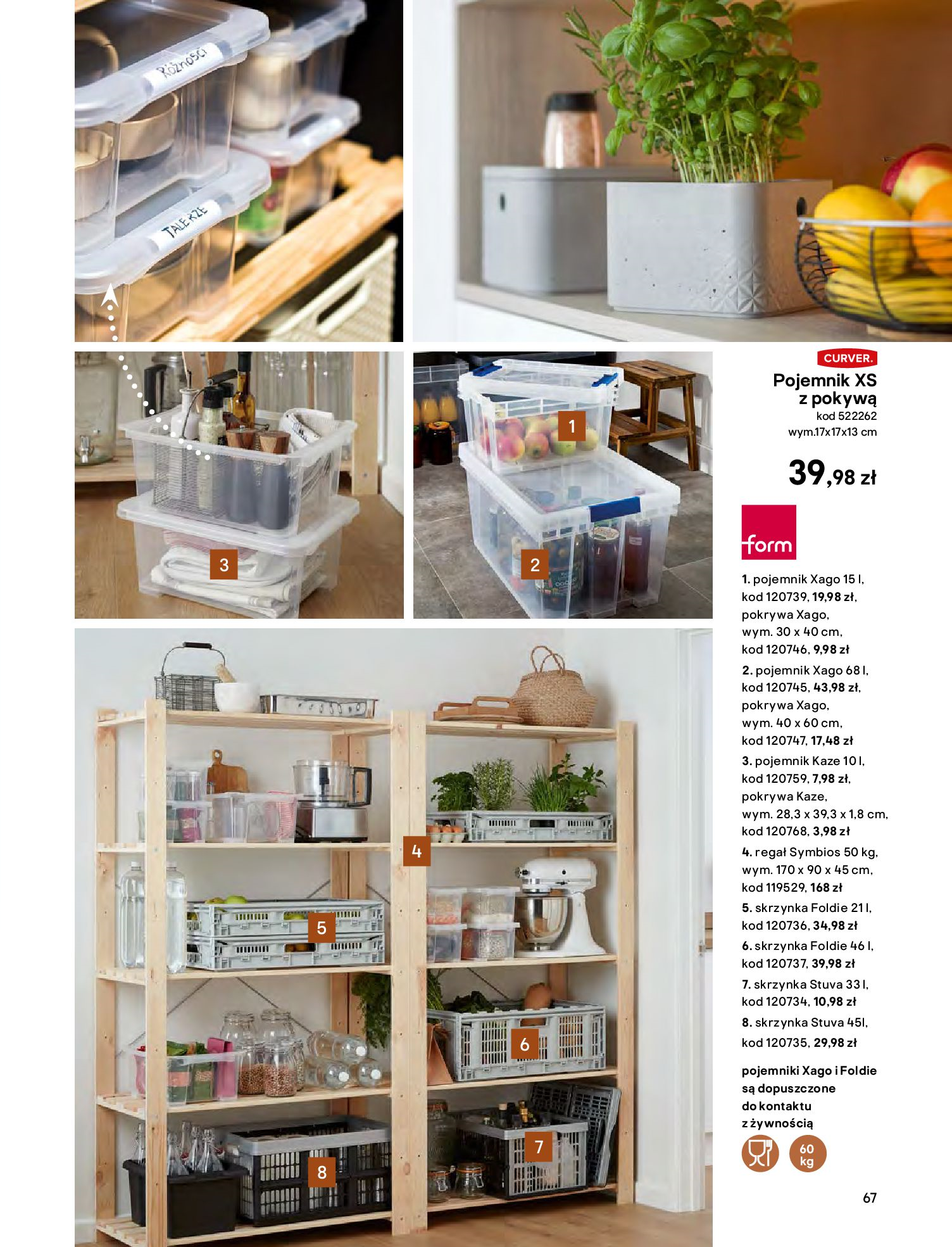 Gazetka Castorama - Katalog Kuchnie 2020-14.04.2020-31.12.2020-page-67