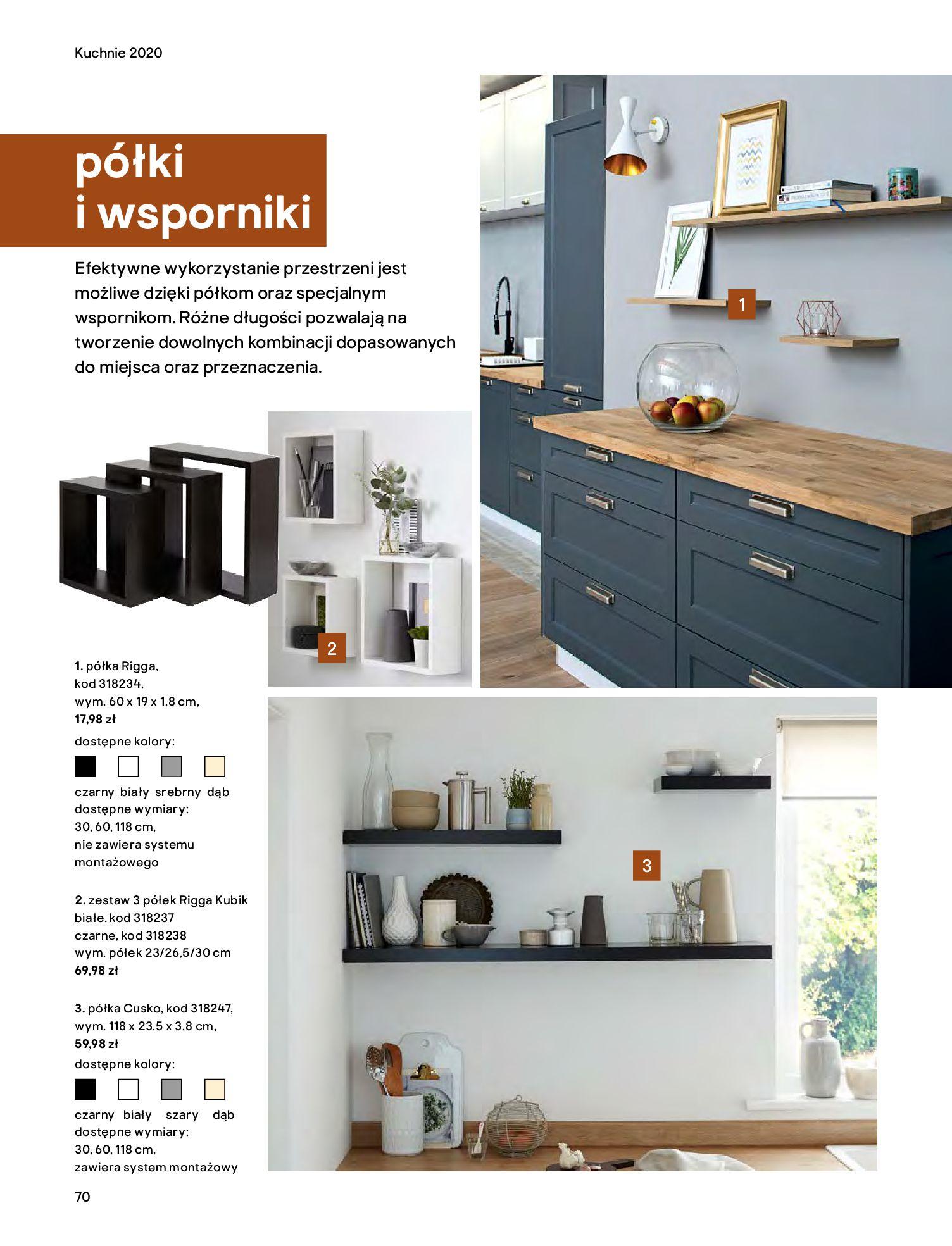 Gazetka Castorama - Katalog Kuchnie 2020-14.04.2020-31.12.2020-page-70