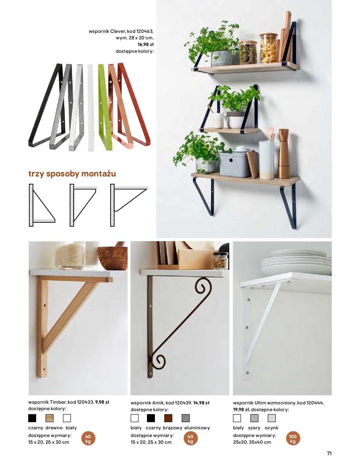 Gazetka Castorama - Katalog Kuchnie 2020-14.04.2020-31.12.2020-page-71