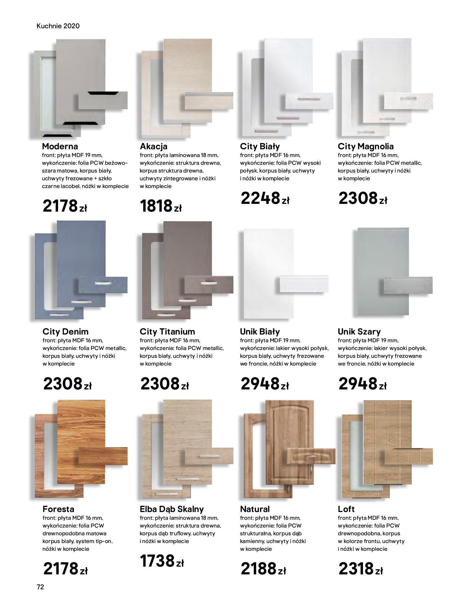 Gazetka Castorama - Katalog Kuchnie 2020-14.04.2020-31.12.2020-page-72