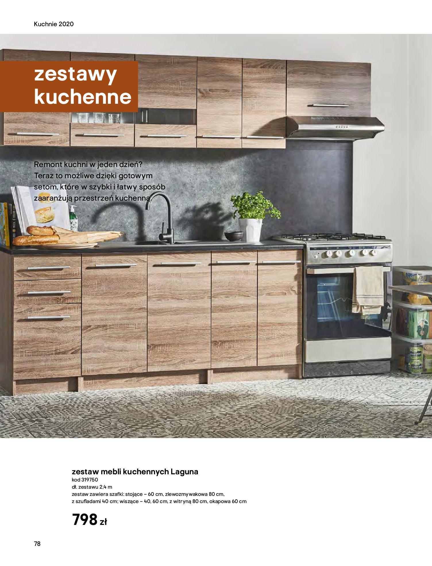 Gazetka Castorama - Katalog Kuchnie 2020-14.04.2020-31.12.2020-page-78