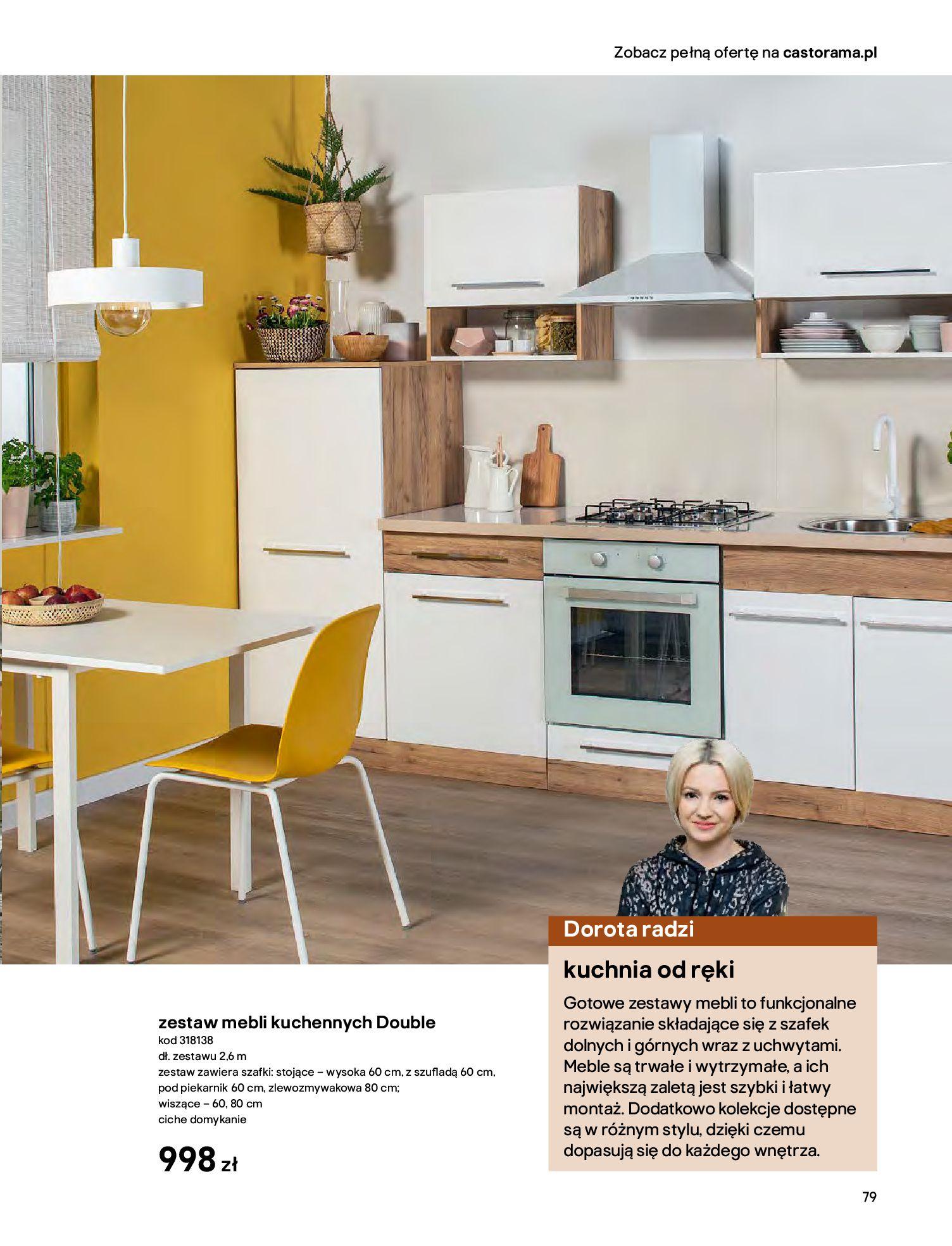Gazetka Castorama - Katalog Kuchnie 2020-14.04.2020-31.12.2020-page-79