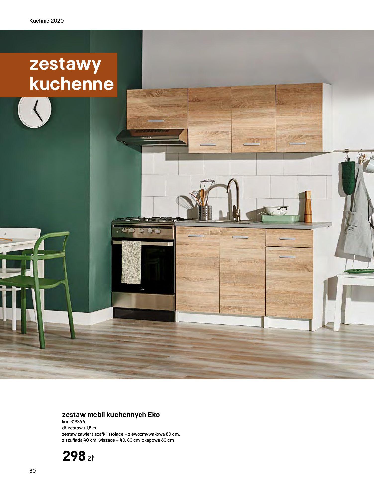 Gazetka Castorama - Katalog Kuchnie 2020-14.04.2020-31.12.2020-page-80
