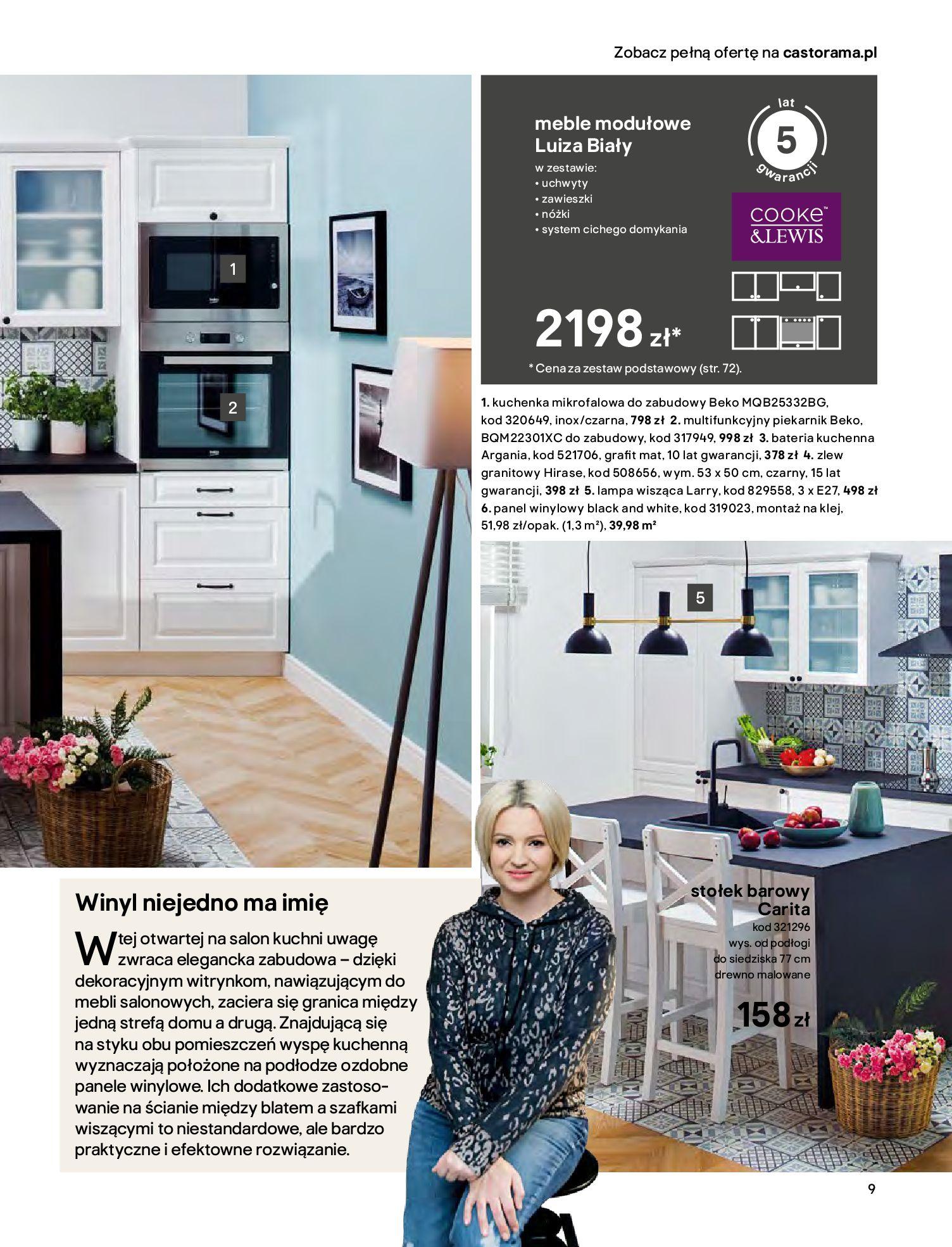 Gazetka Castorama - Katalog Kuchnie 2020-14.04.2020-31.12.2020-page-9