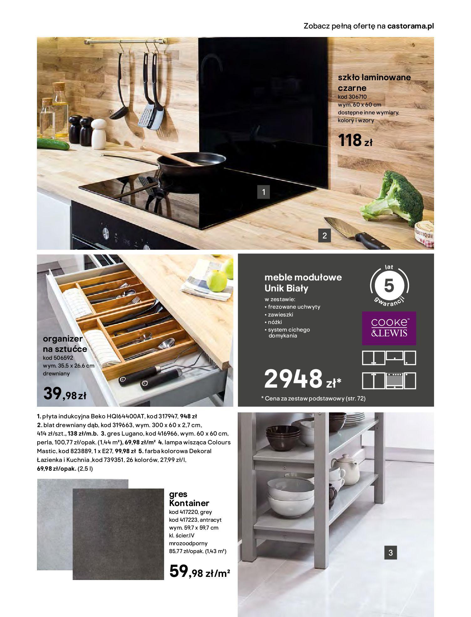 Gazetka Castorama - Katalog Kuchnie 2020-14.04.2020-31.12.2020-page-11