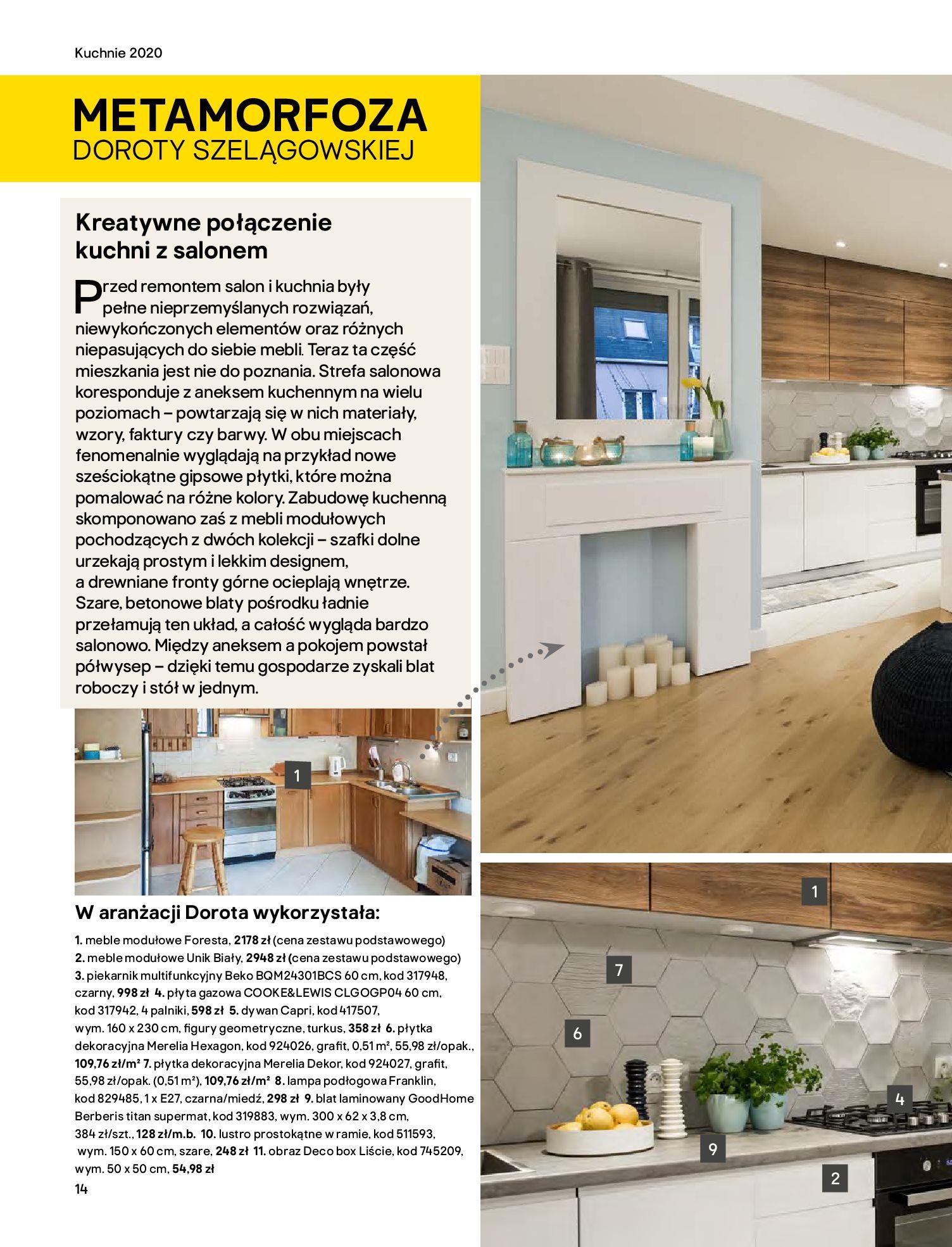 Gazetka Castorama - Katalog Kuchnie 2020-14.04.2020-31.12.2020-page-14