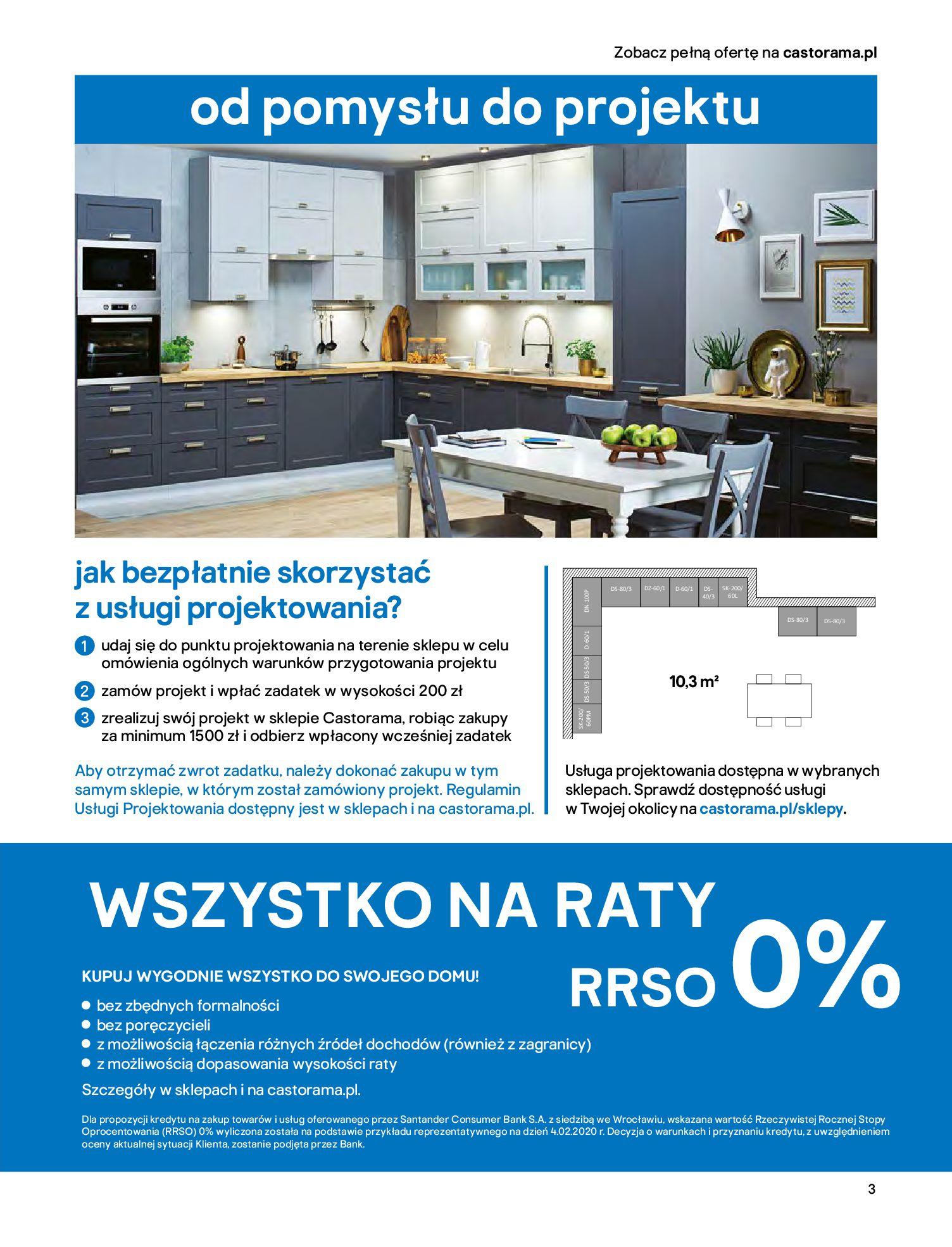 Gazetka Castorama - Katalog Kuchnie 2020-14.04.2020-31.12.2020-page-3