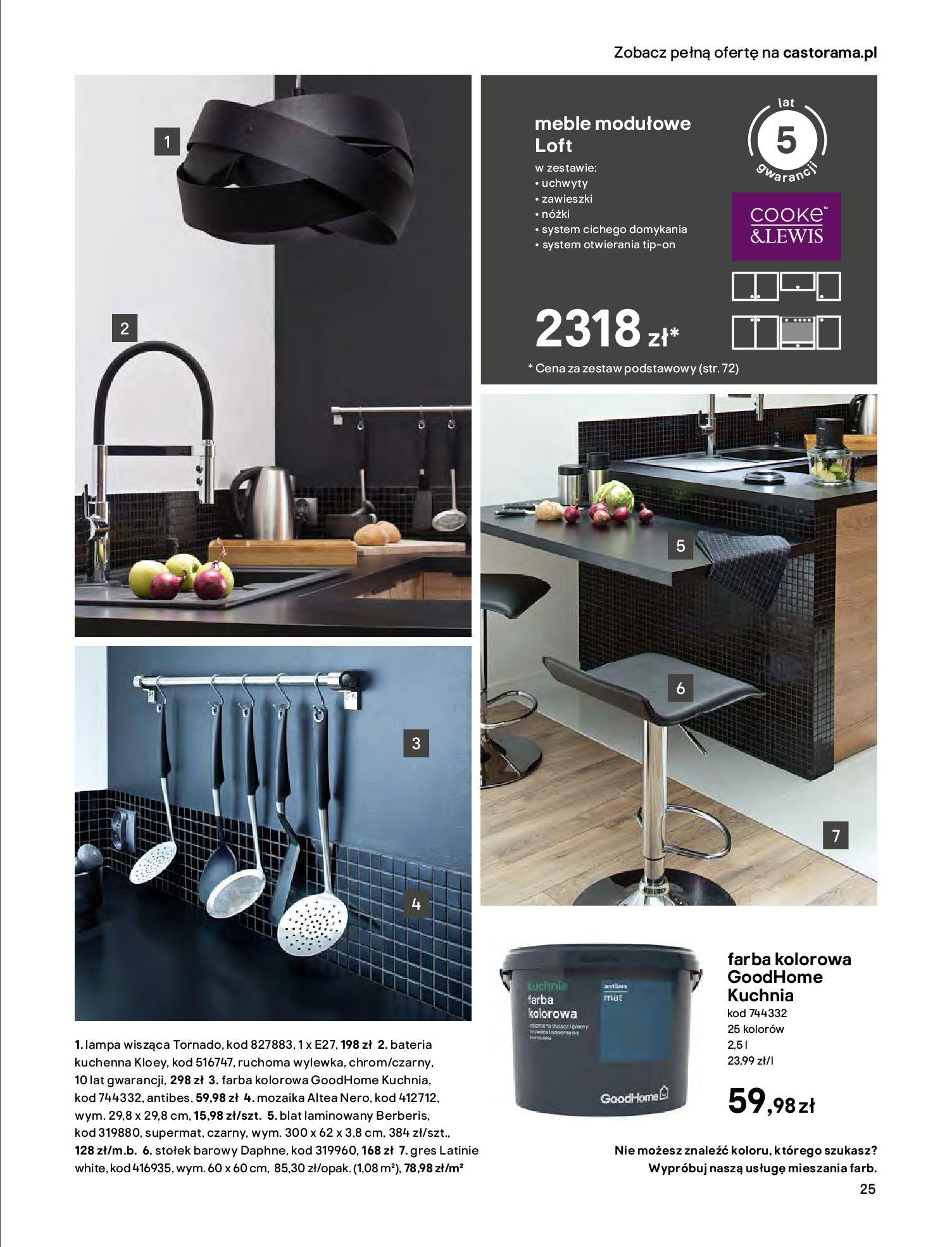 Gazetka Castorama - Katalog Kuchnie 2020-14.04.2020-31.12.2020-page-25