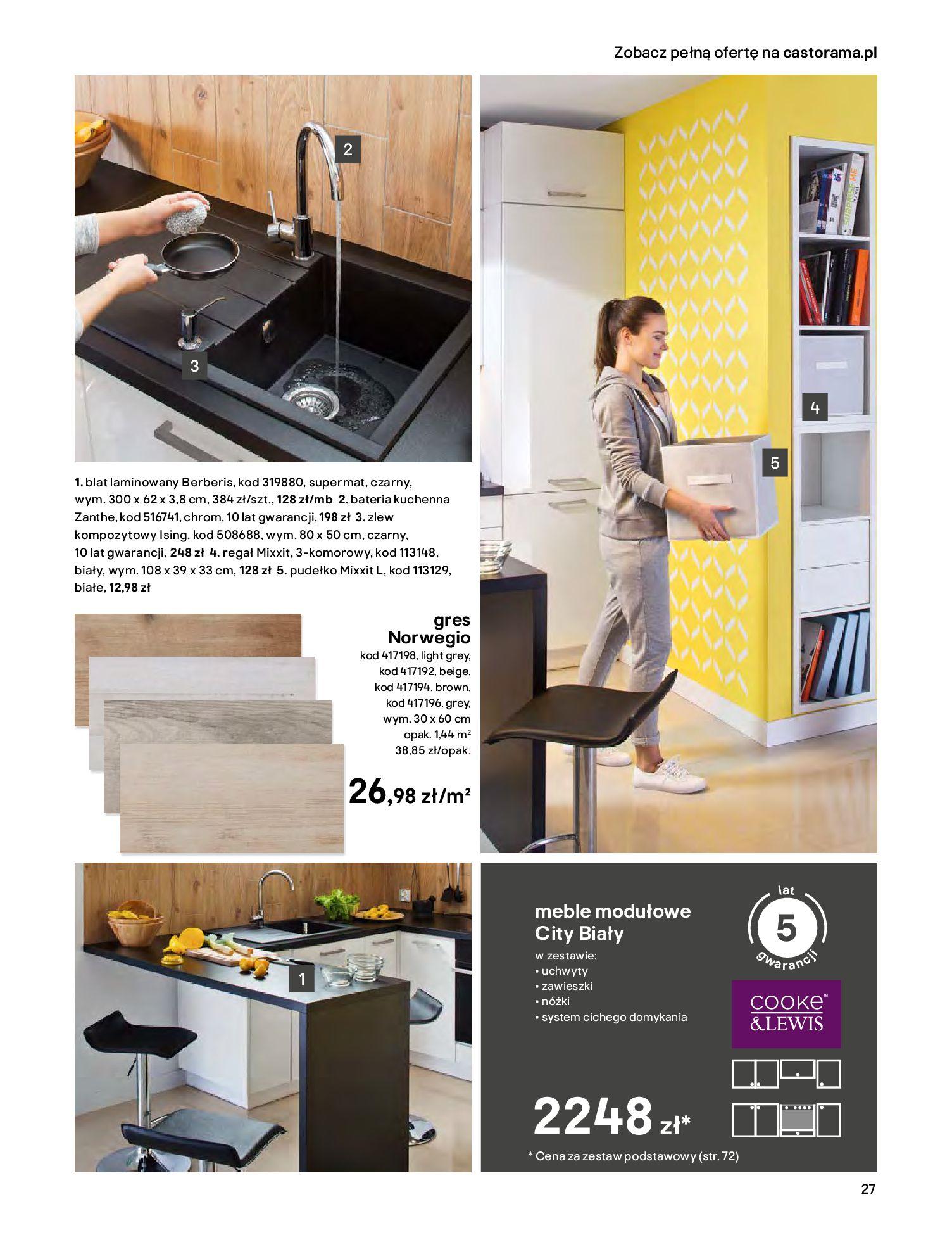 Gazetka Castorama - Katalog Kuchnie 2020-14.04.2020-31.12.2020-page-27
