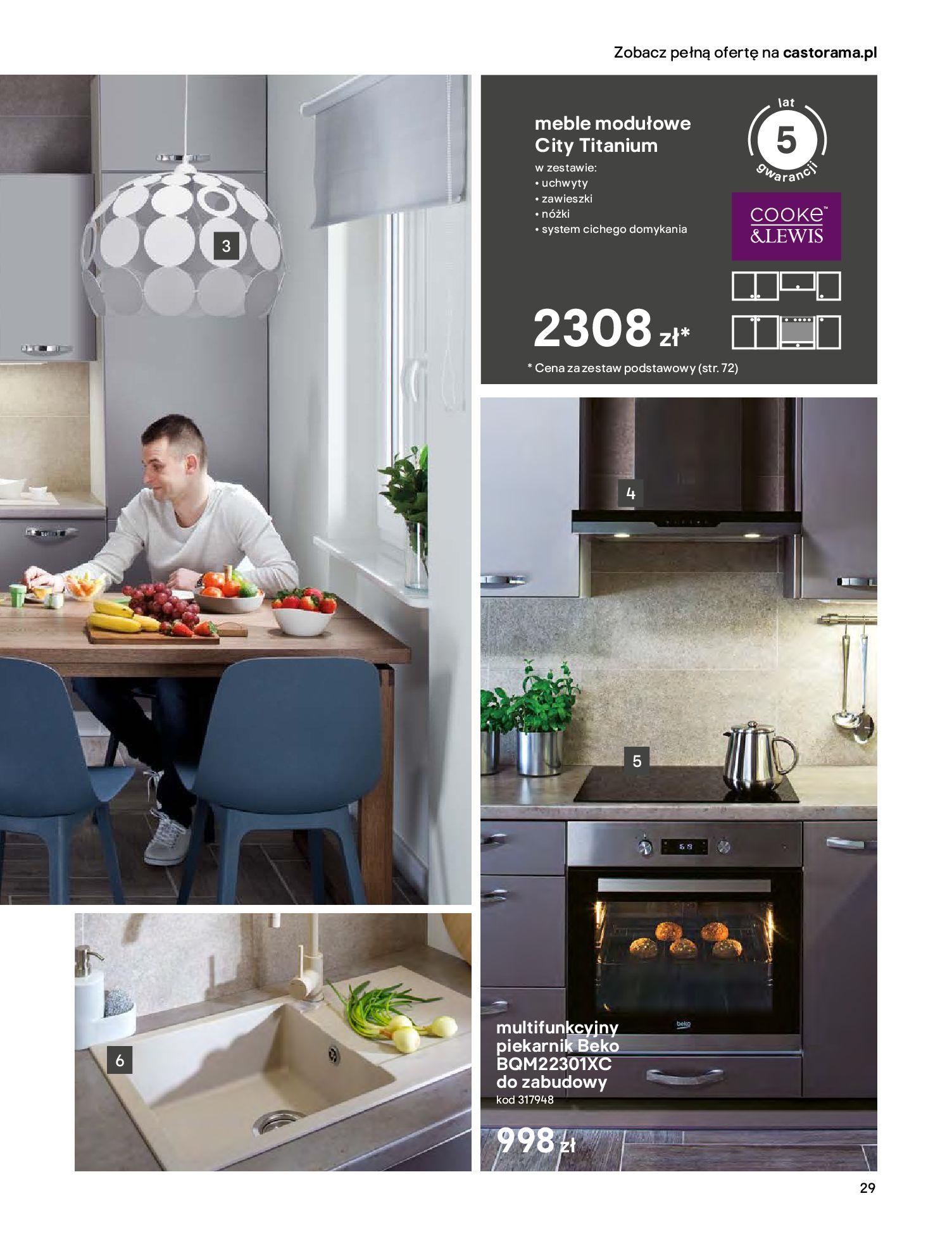 Gazetka Castorama - Katalog Kuchnie 2020-14.04.2020-31.12.2020-page-29