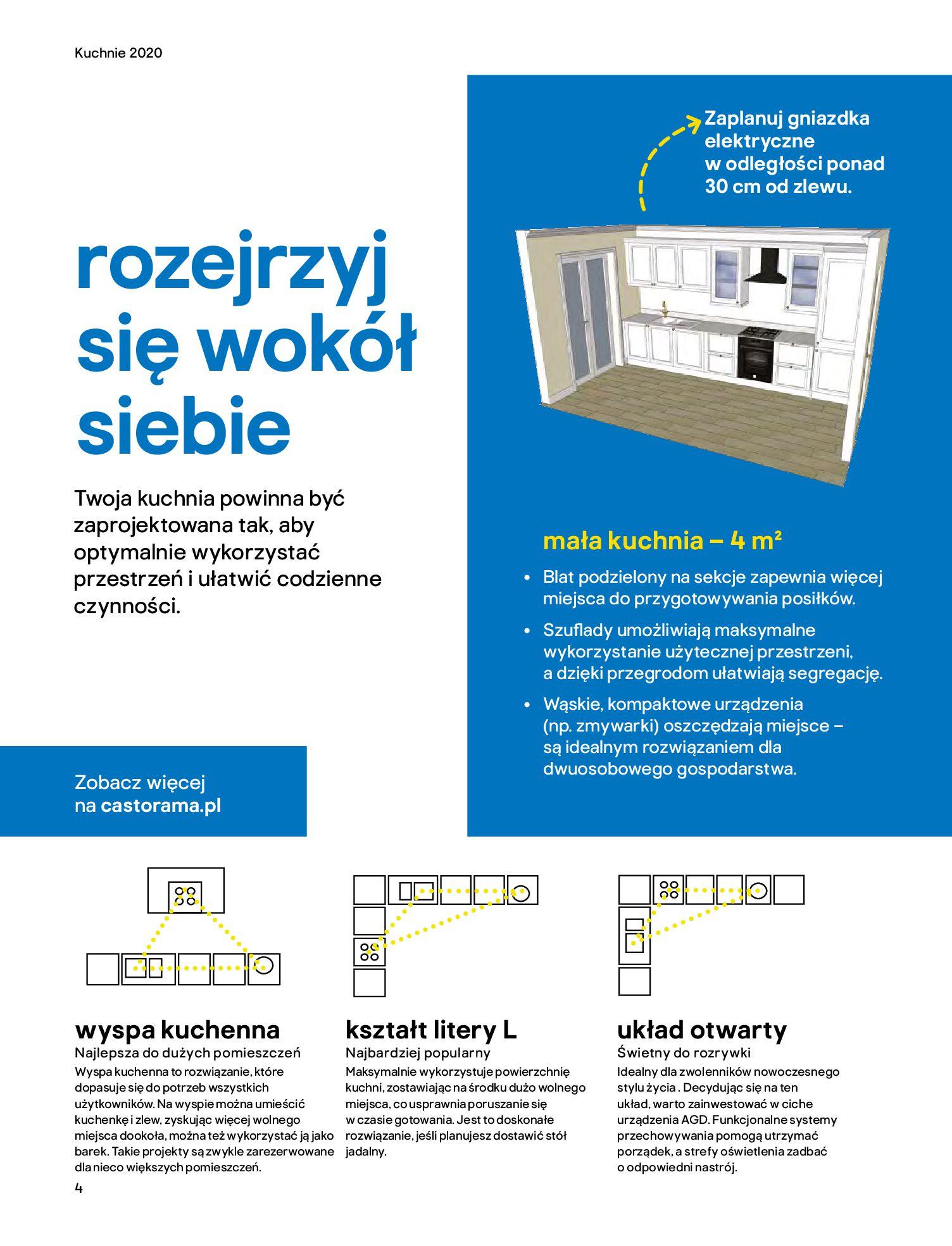 Gazetka Castorama - Katalog Kuchnie 2020-14.04.2020-31.12.2020-page-4