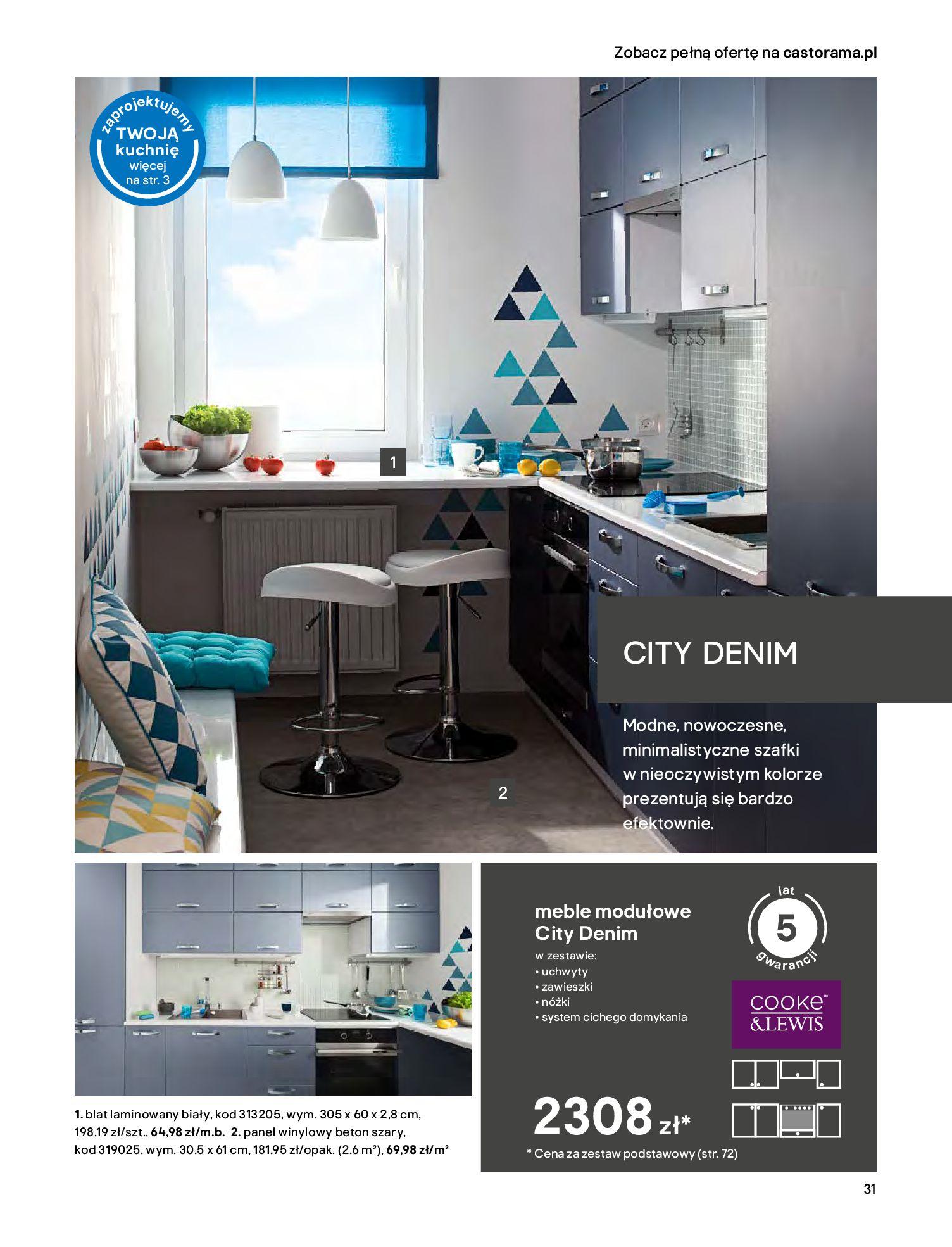 Gazetka Castorama - Katalog Kuchnie 2020-14.04.2020-31.12.2020-page-31