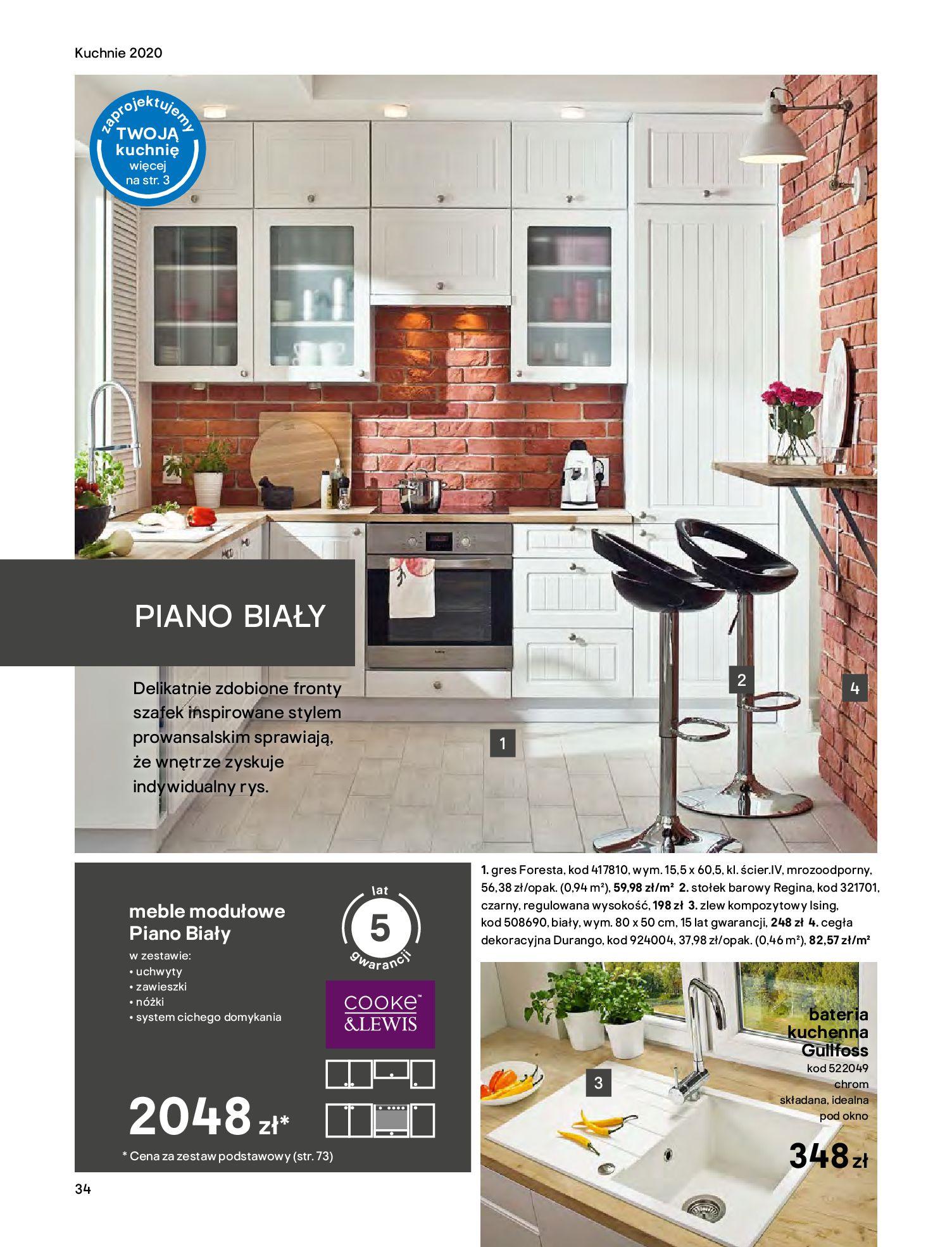 Gazetka Castorama - Katalog Kuchnie 2020-14.04.2020-31.12.2020-page-34