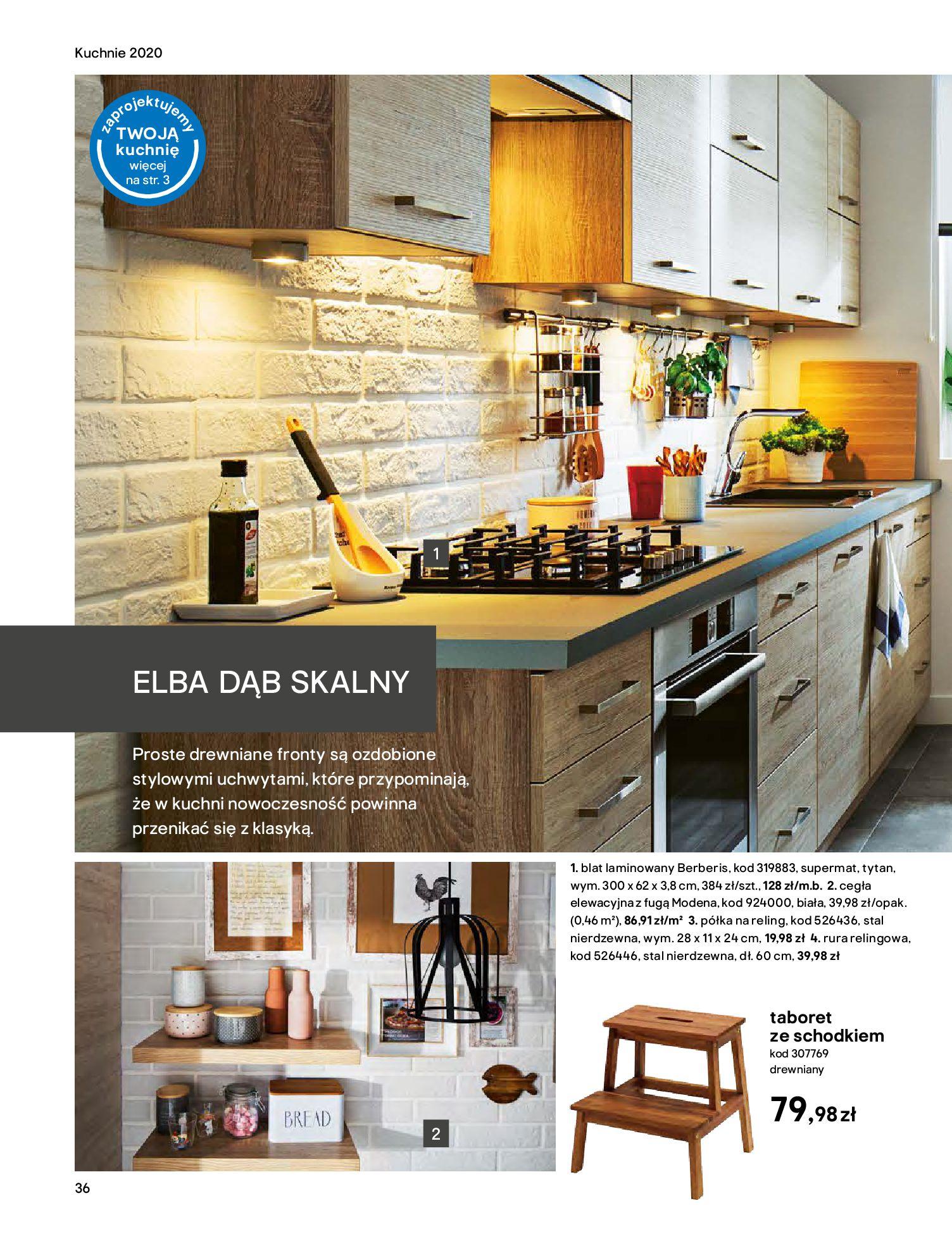 Gazetka Castorama - Katalog Kuchnie 2020-14.04.2020-31.12.2020-page-36