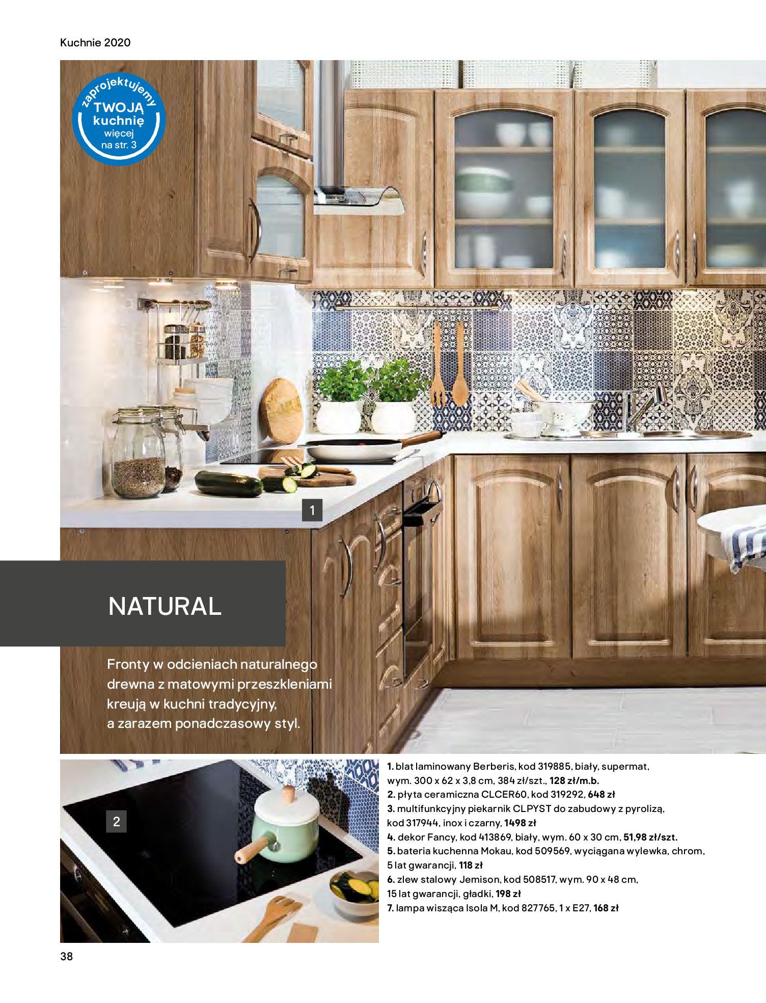Gazetka Castorama - Katalog Kuchnie 2020-14.04.2020-31.12.2020-page-38