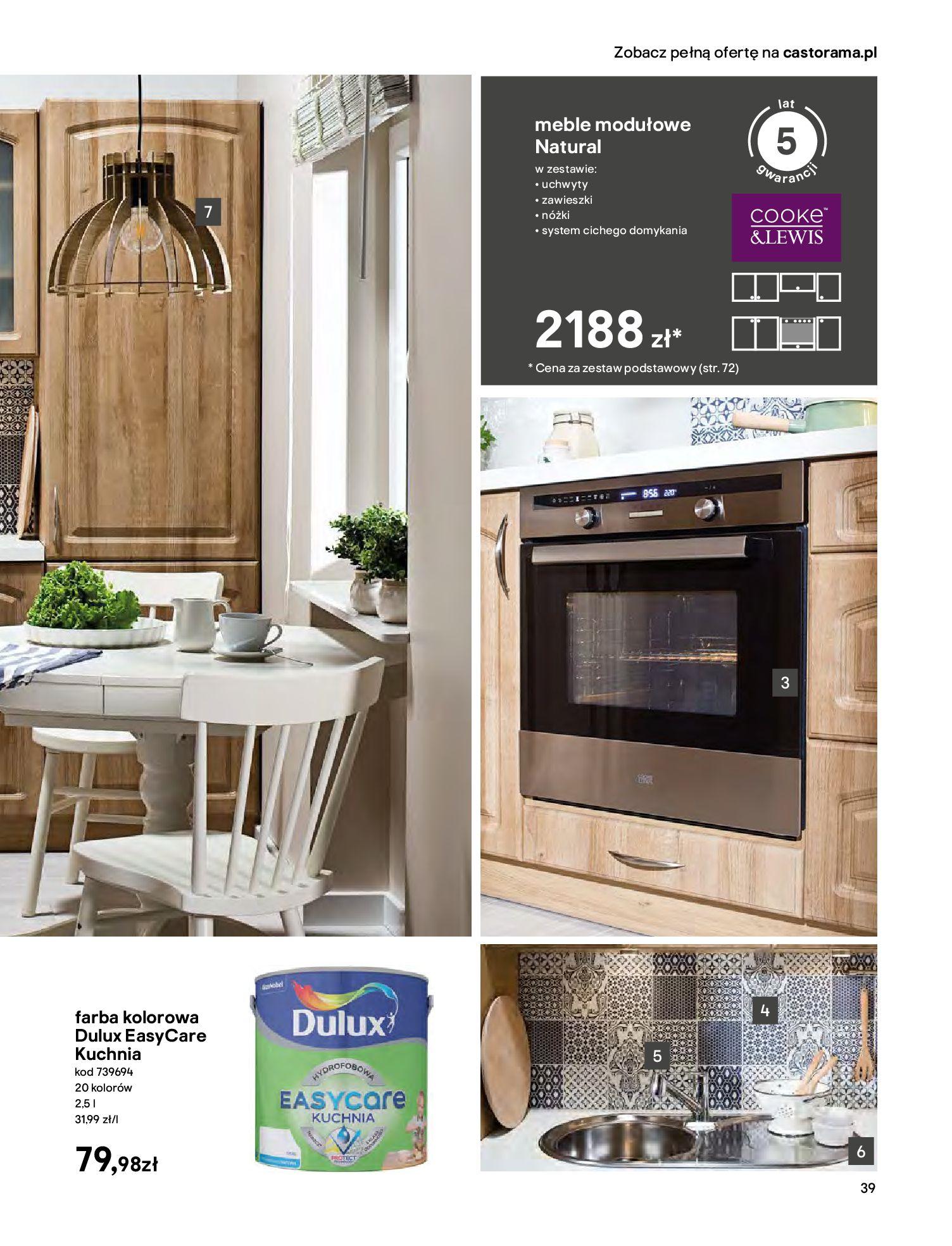 Gazetka Castorama - Katalog Kuchnie 2020-14.04.2020-31.12.2020-page-39