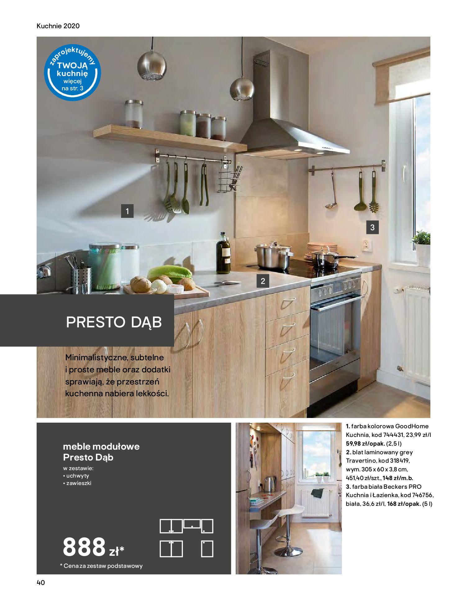 Gazetka Castorama - Katalog Kuchnie 2020-14.04.2020-31.12.2020-page-40