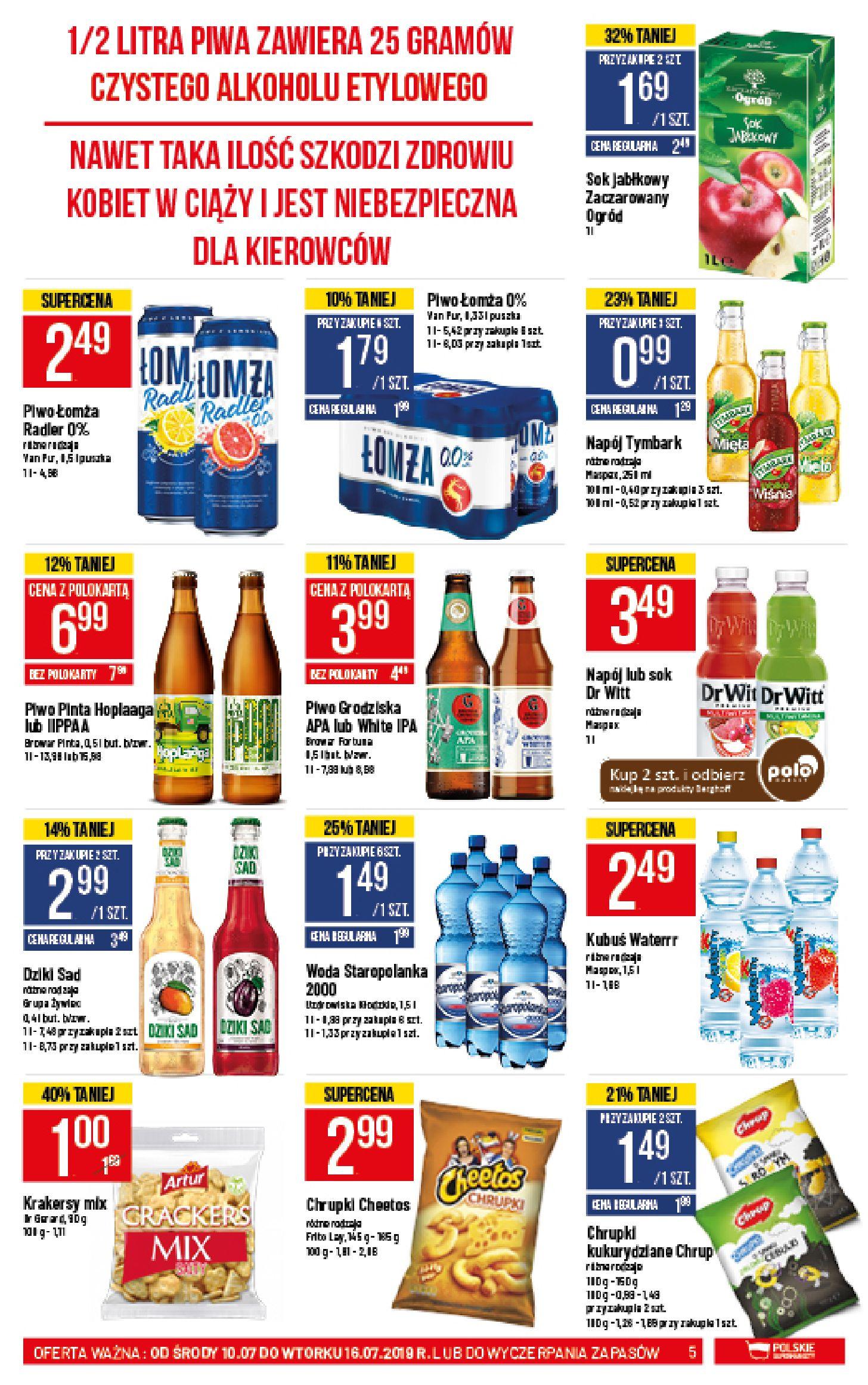 Gazetka Polomarket - Oferta promocyjna-09.07.2019-16.07.2019-page-