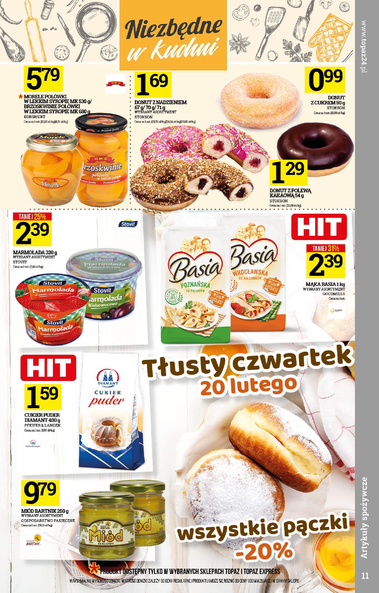 Gazetka TOPAZ - Gazetka promocyjna-12.02.2020-19.02.2020-page-11