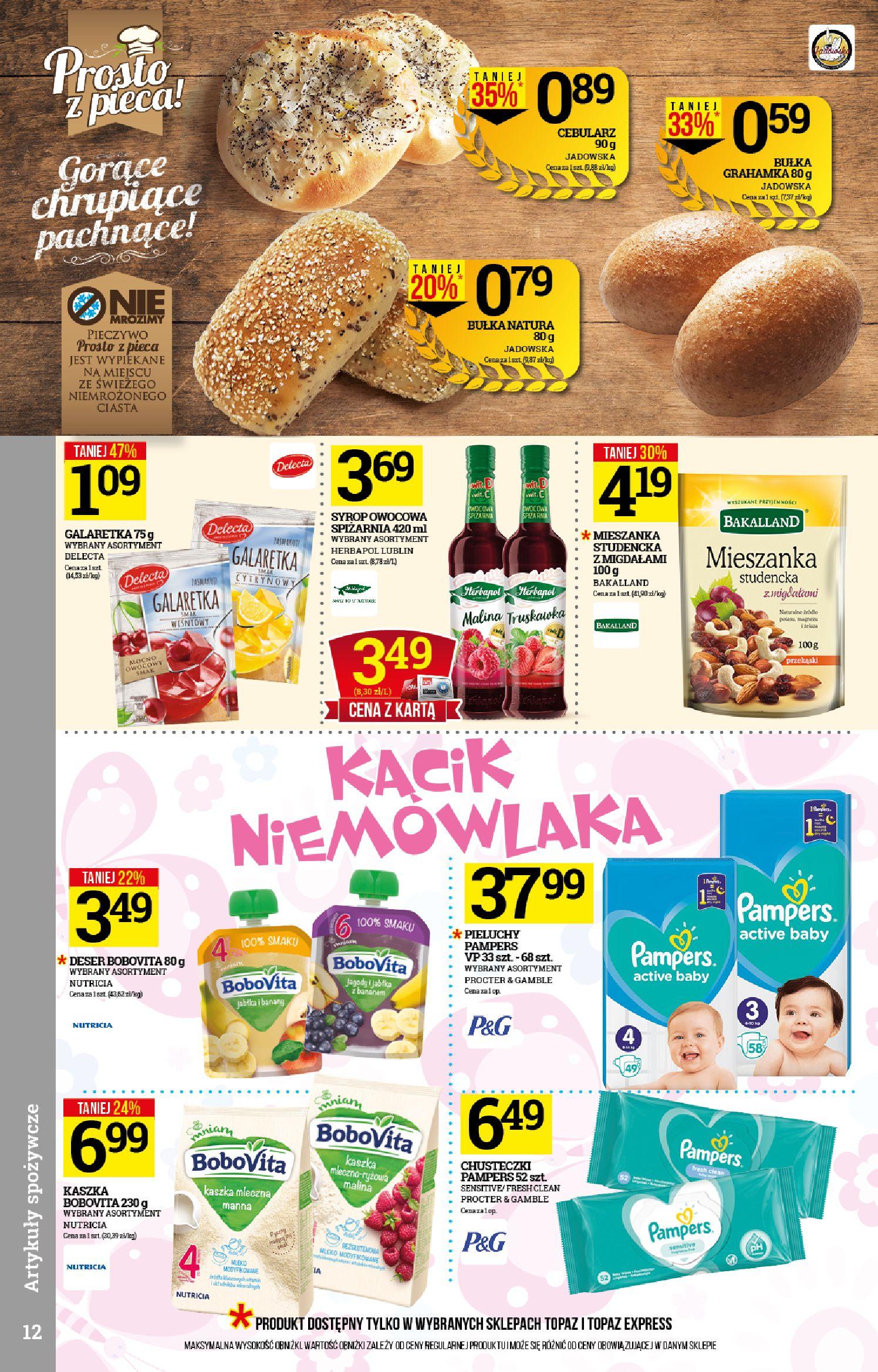 Gazetka TOPAZ - Gazetka promocyjna-12.02.2020-19.02.2020-page-12