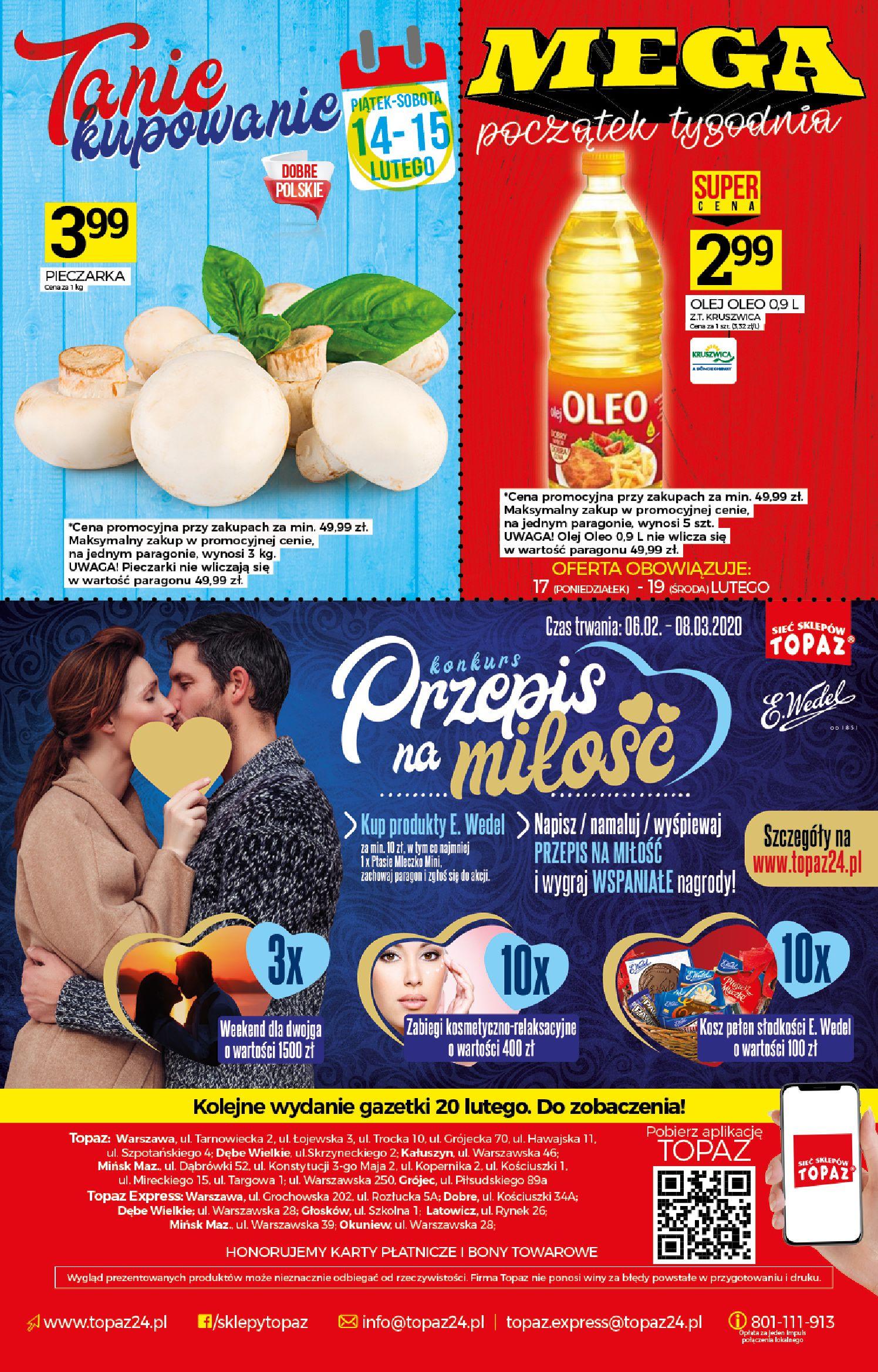 Gazetka TOPAZ - Gazetka promocyjna-12.02.2020-19.02.2020-page-20
