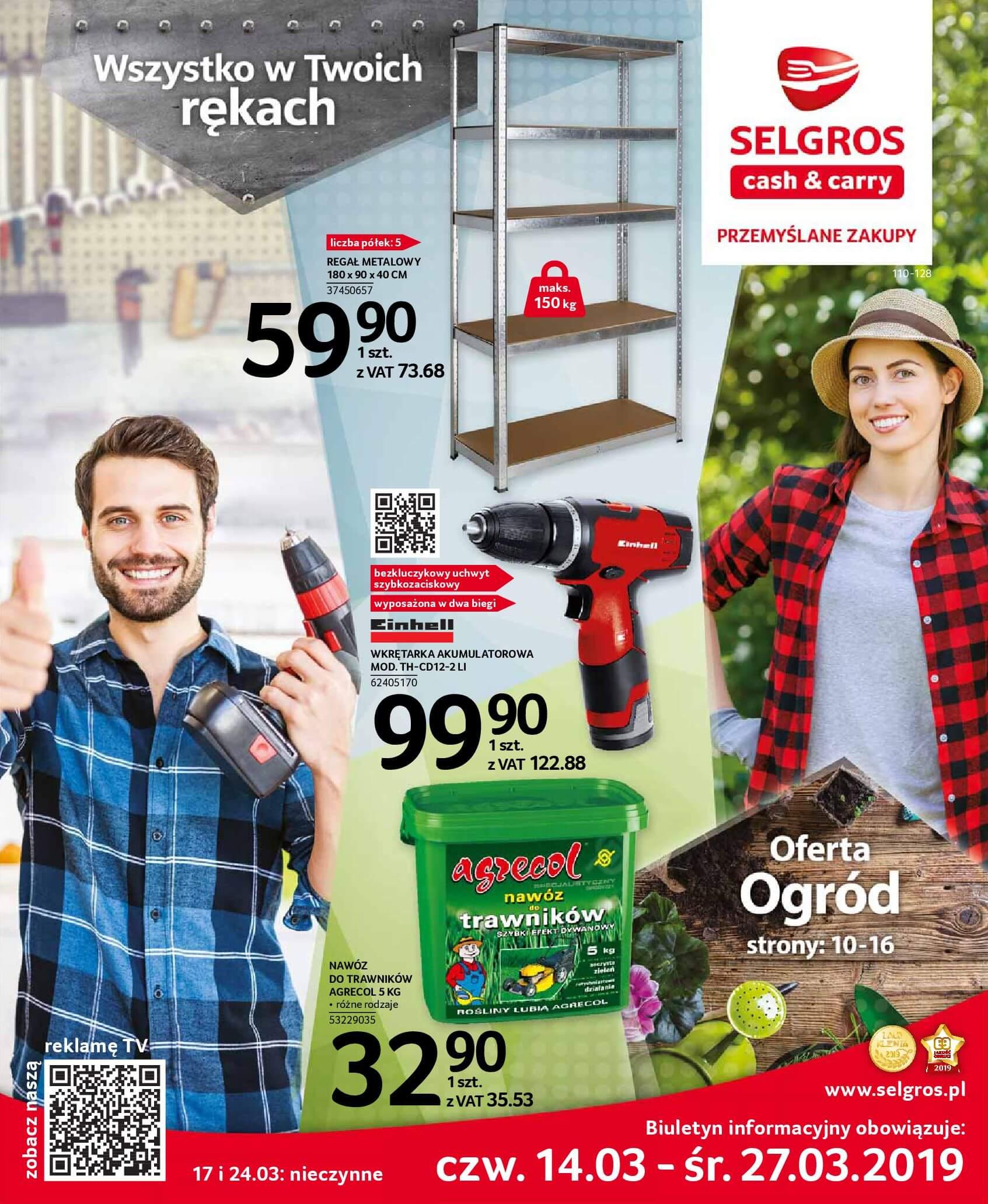 Gazetka Selgros - Wszystko w Twoich rękach-13.03.2019-27.03.2019-page-