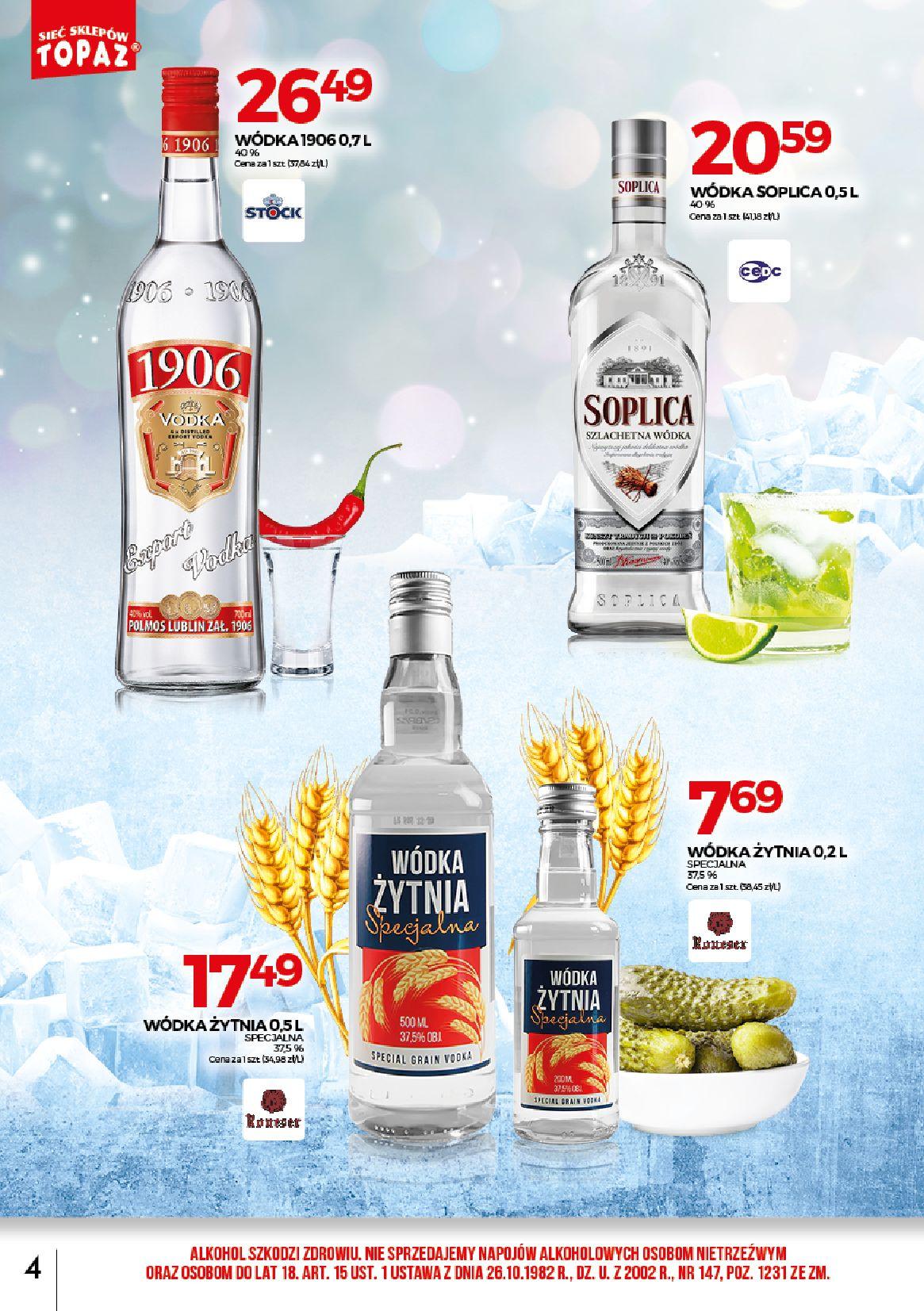 Gazetka TOPAZ - Alkohole-30.06.2019-31.07.2019-page-4