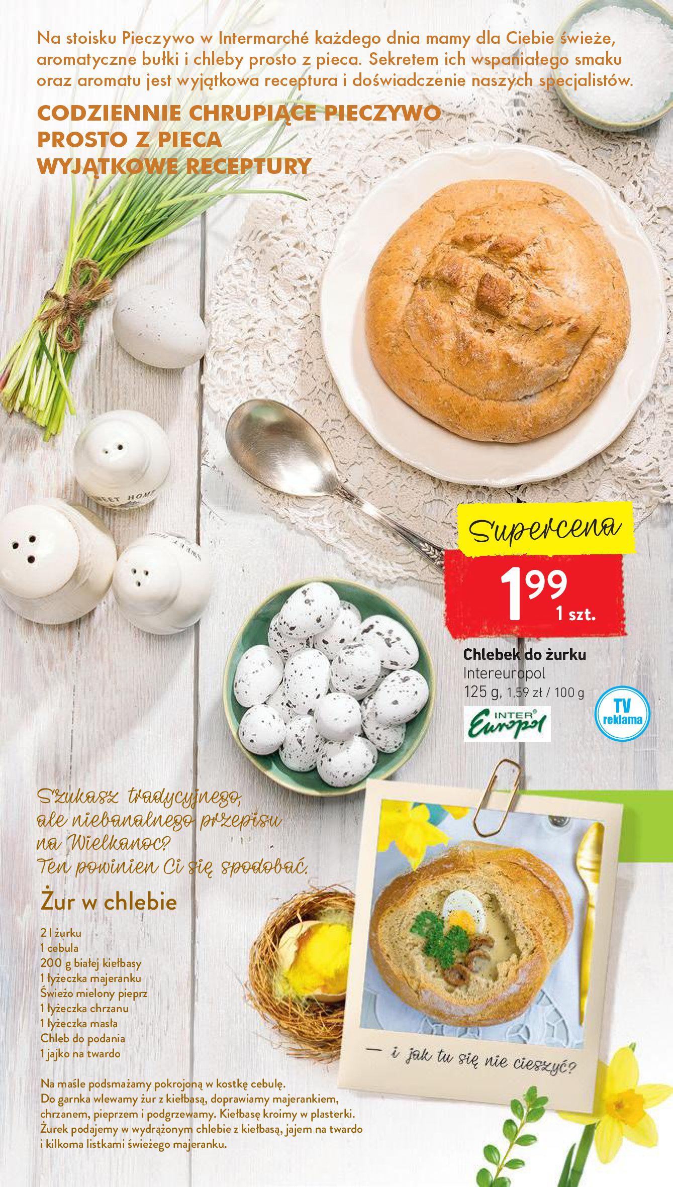 Gazetka Intermarché - Wielkanocne akcje i inspiracje-15.04.2019-20.04.2019-page-