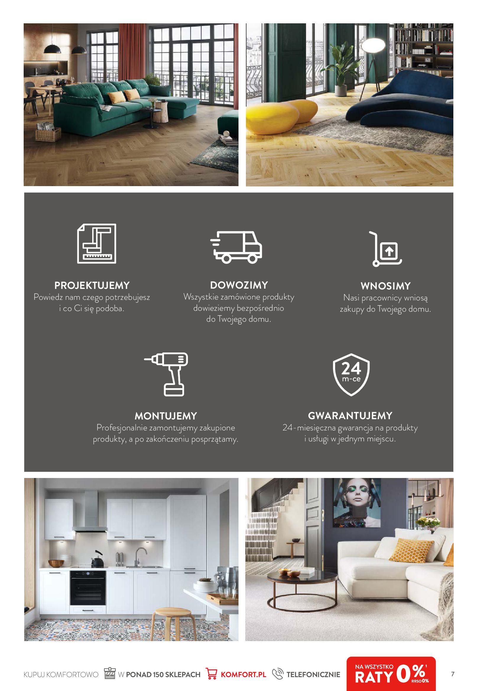 Gazetka Komfort: Komfortuj swoje życie 2021-04-21 page-7