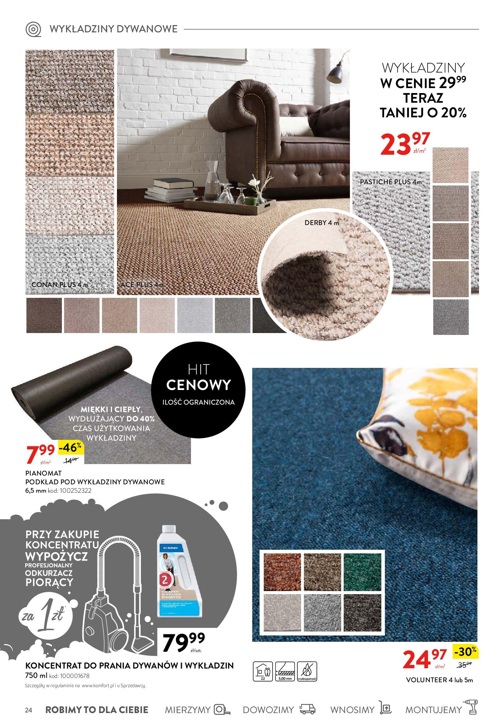 Gazetka Komfort: Komfortuj swoje życie 2021-04-21 page-24