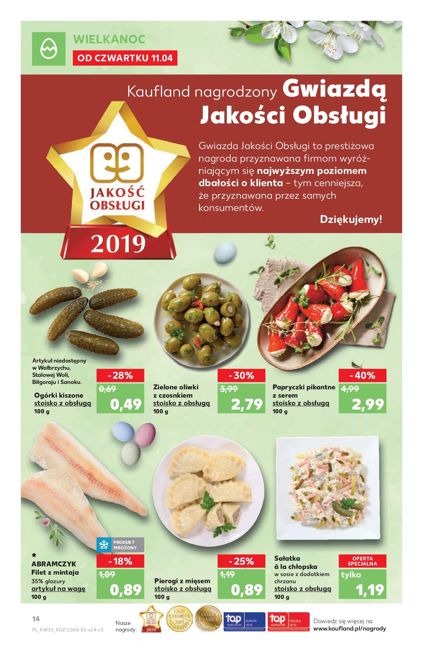 Gazetka Kaufland - Na dobry tydzień-10.04.2019-17.04.2019-page-
