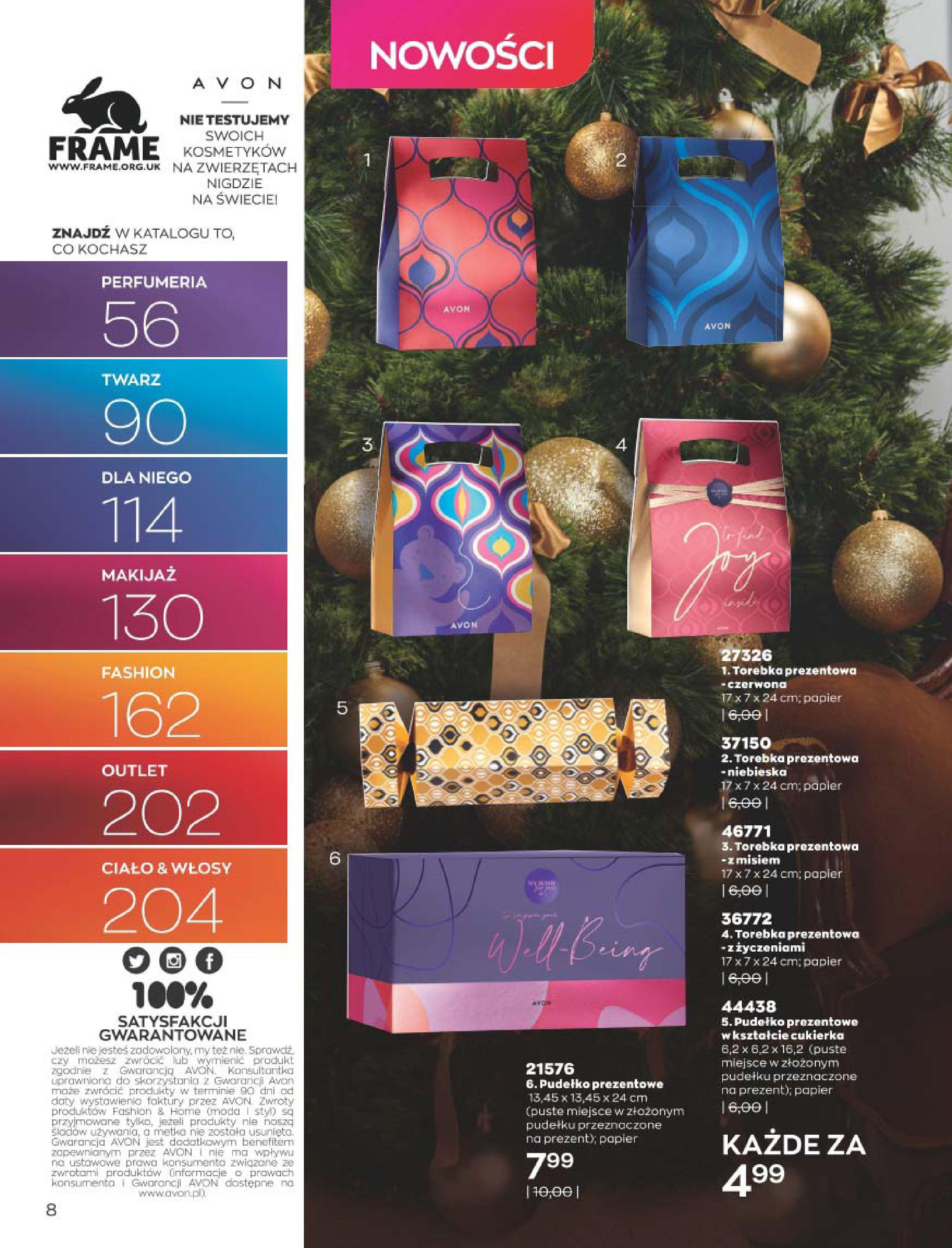 Gazetka Avon: Katalog  16/2020 2020-12-01 page-8