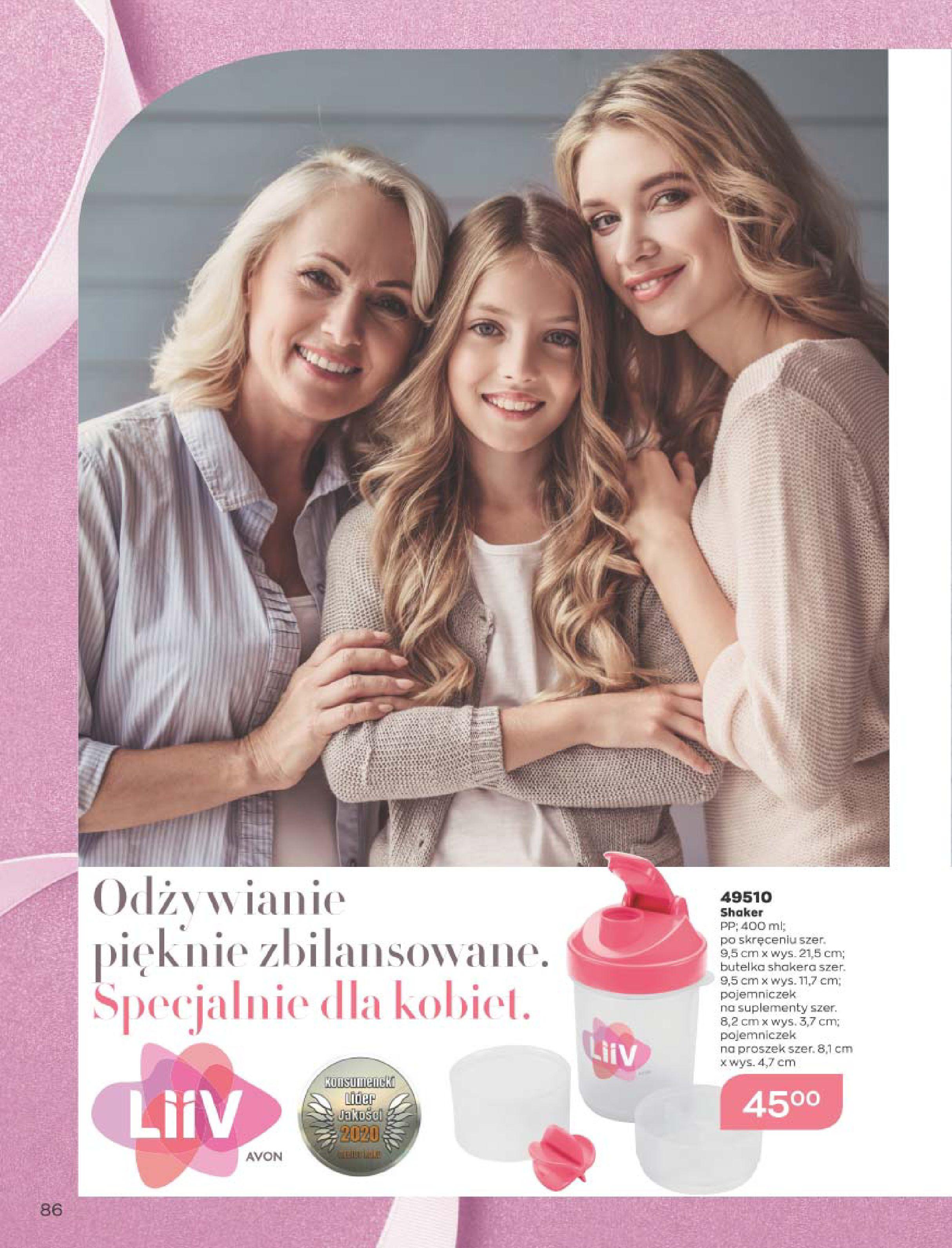 Gazetka Avon: Katalog  16/2020 2020-12-01 page-86