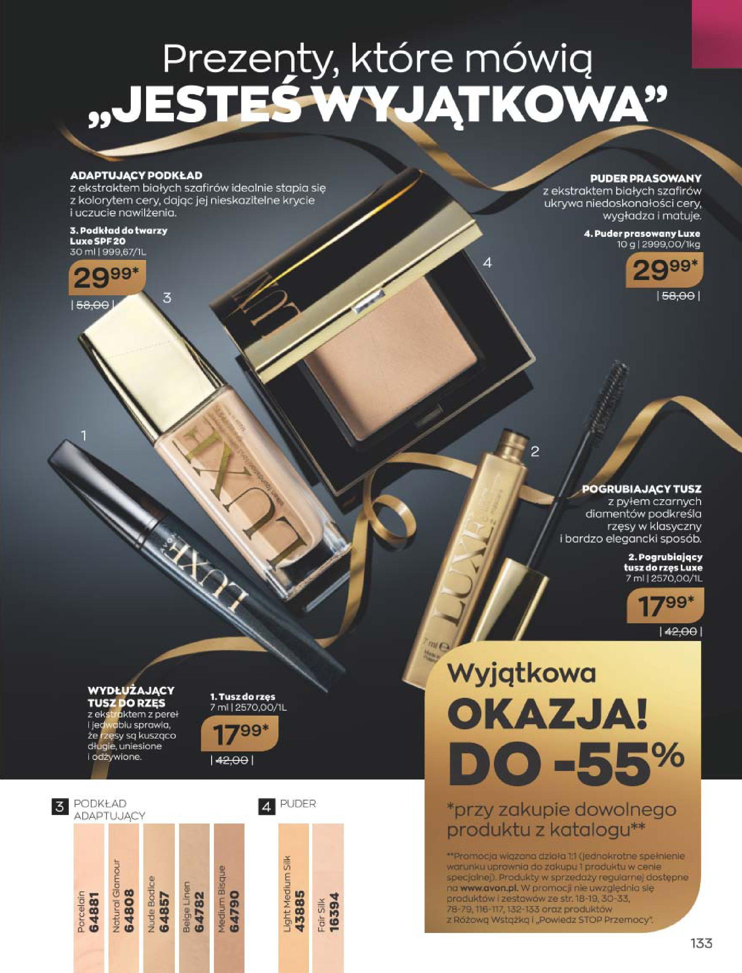 Gazetka Avon: Katalog  16/2020 2020-12-01 page-133