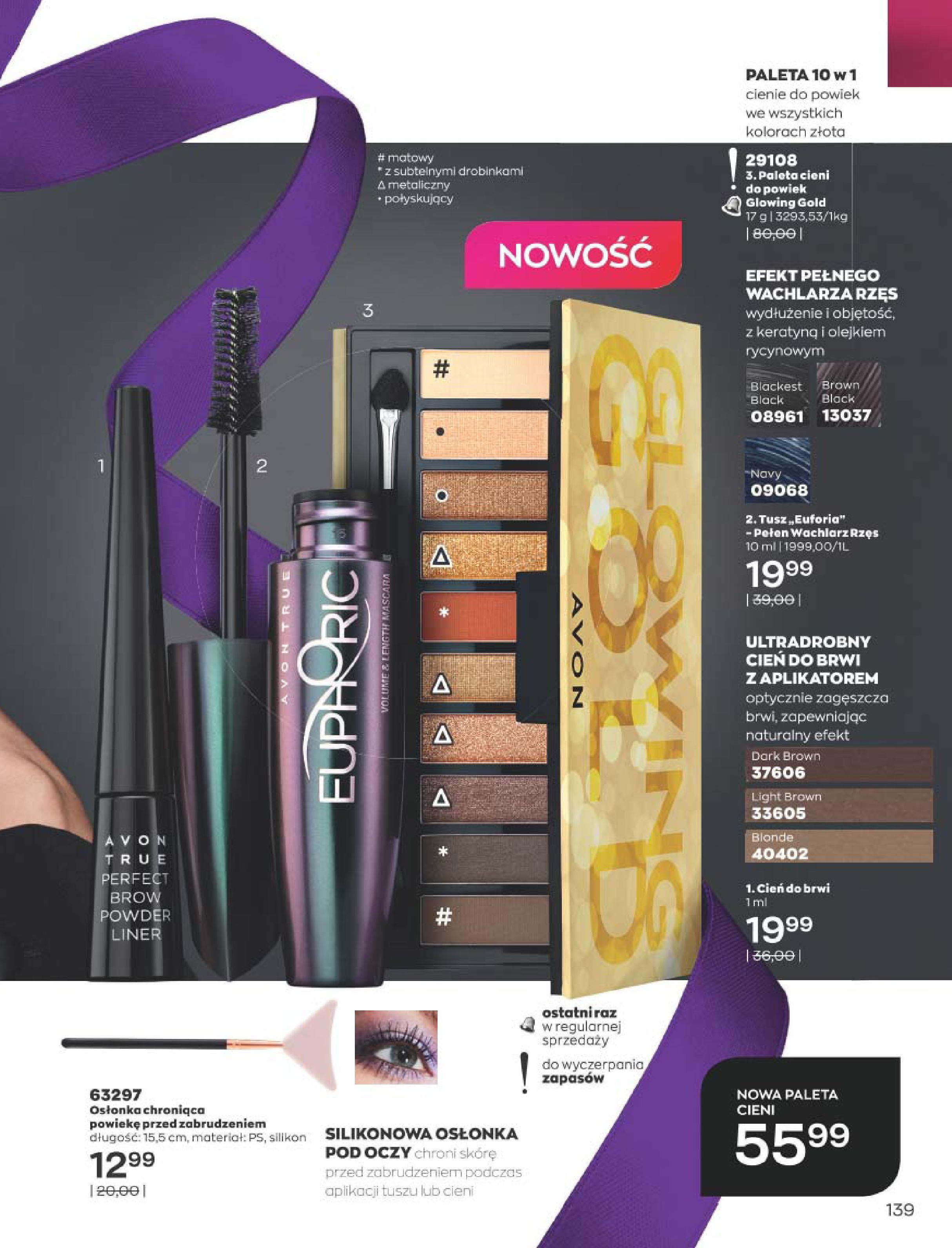 Gazetka Avon: Katalog  16/2020 2020-12-01 page-139