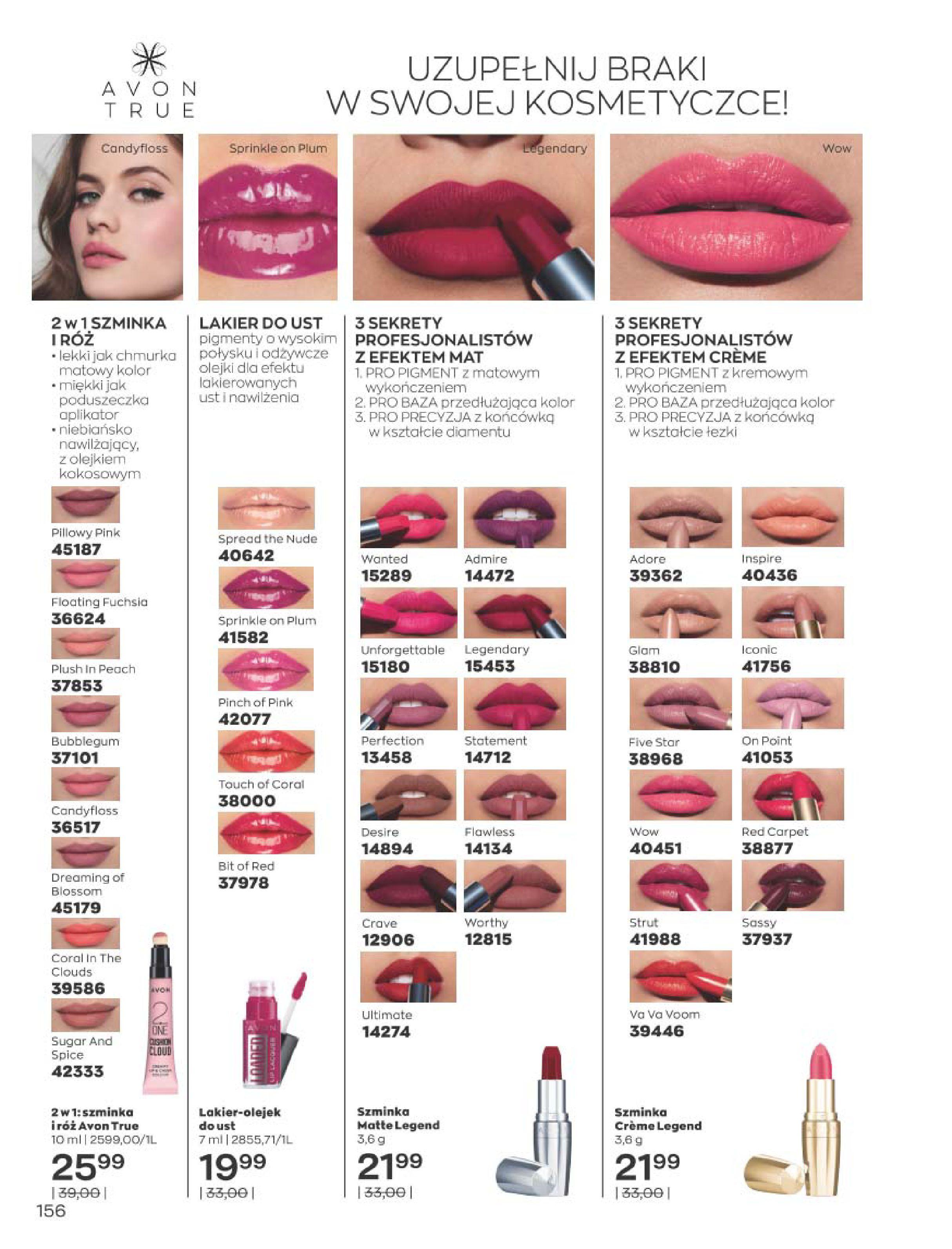 Gazetka Avon: Katalog  16/2020 2020-12-01 page-156