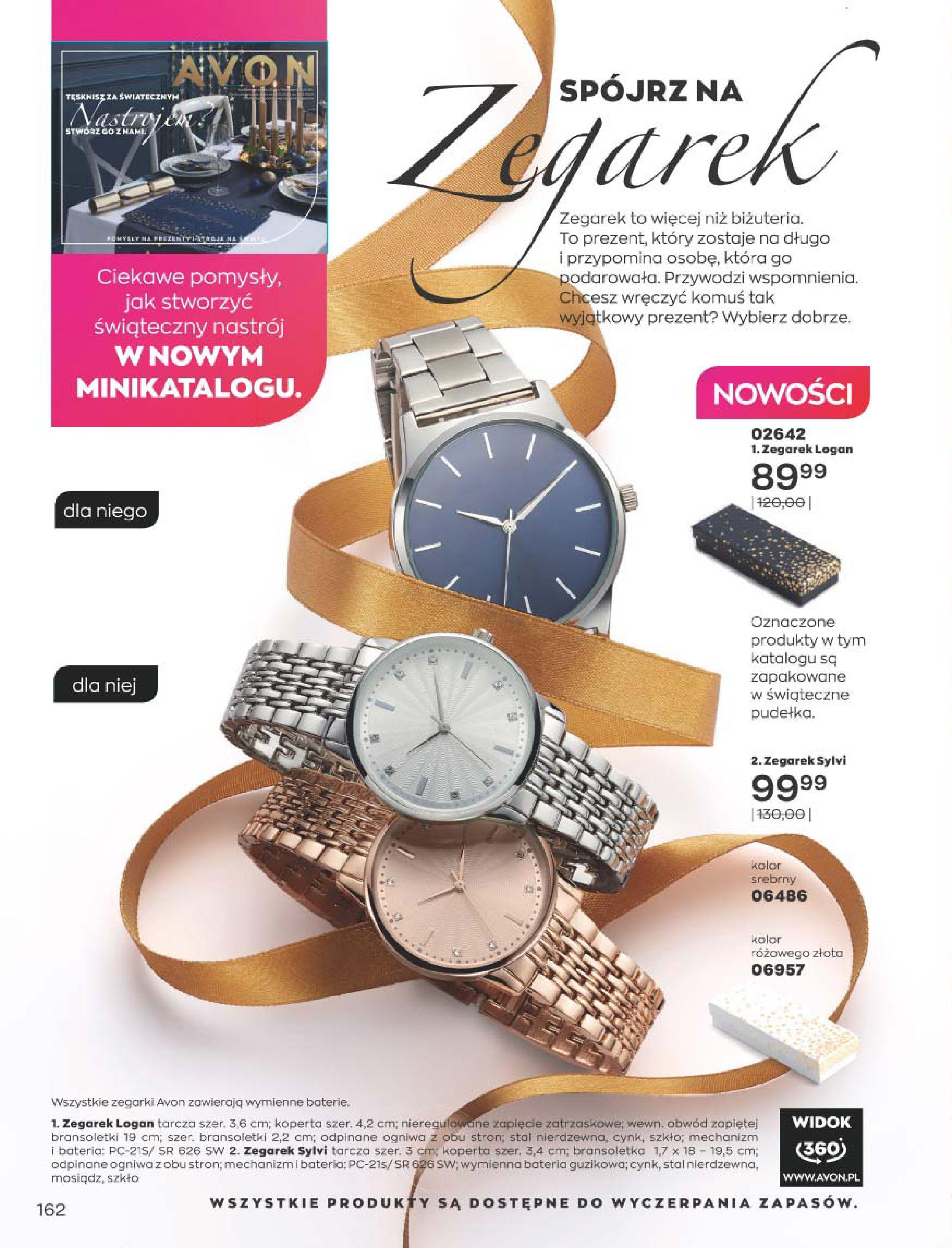 Gazetka Avon: Katalog  16/2020 2020-12-01 page-162