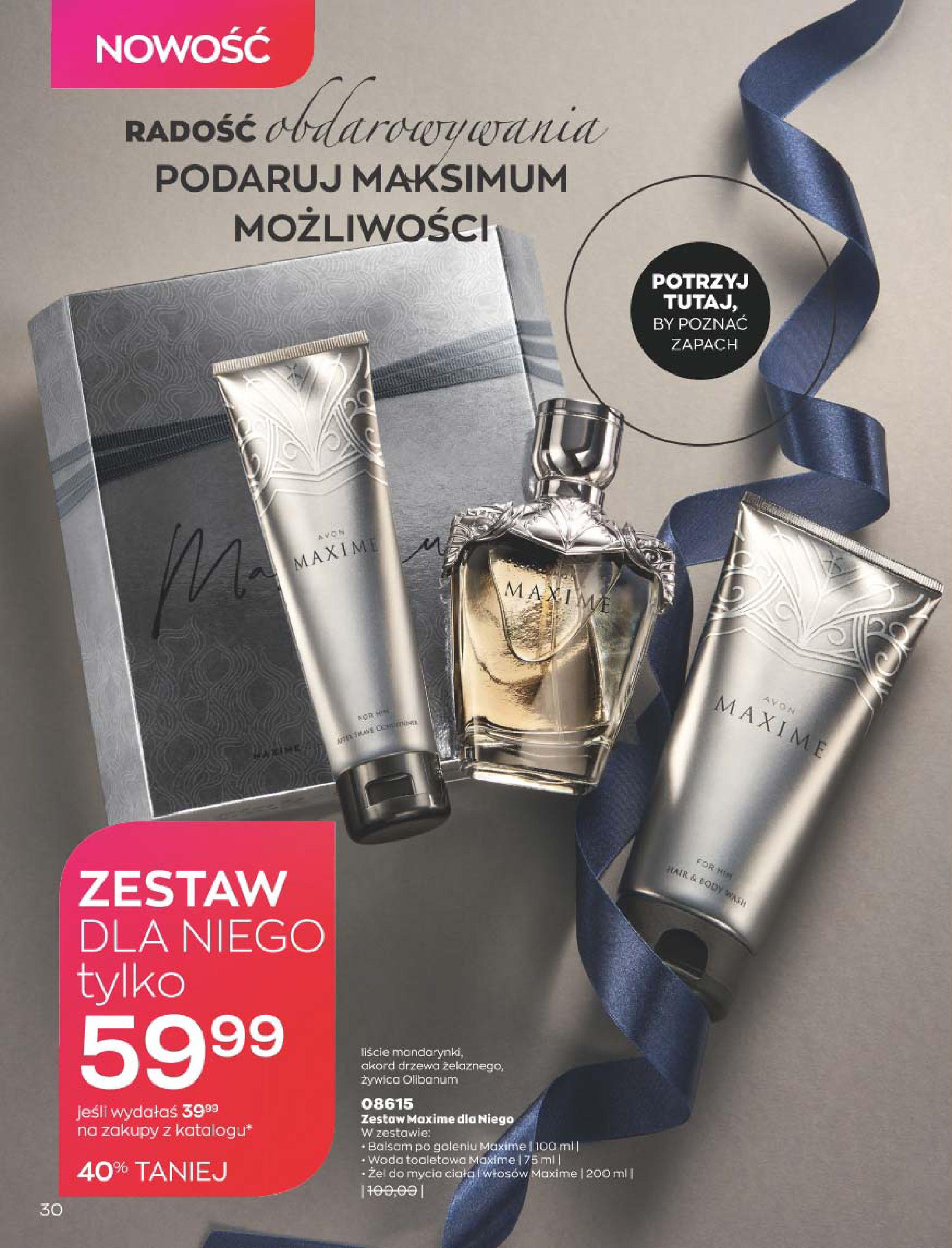 Gazetka Avon: Katalog  16/2020 2020-12-01 page-30