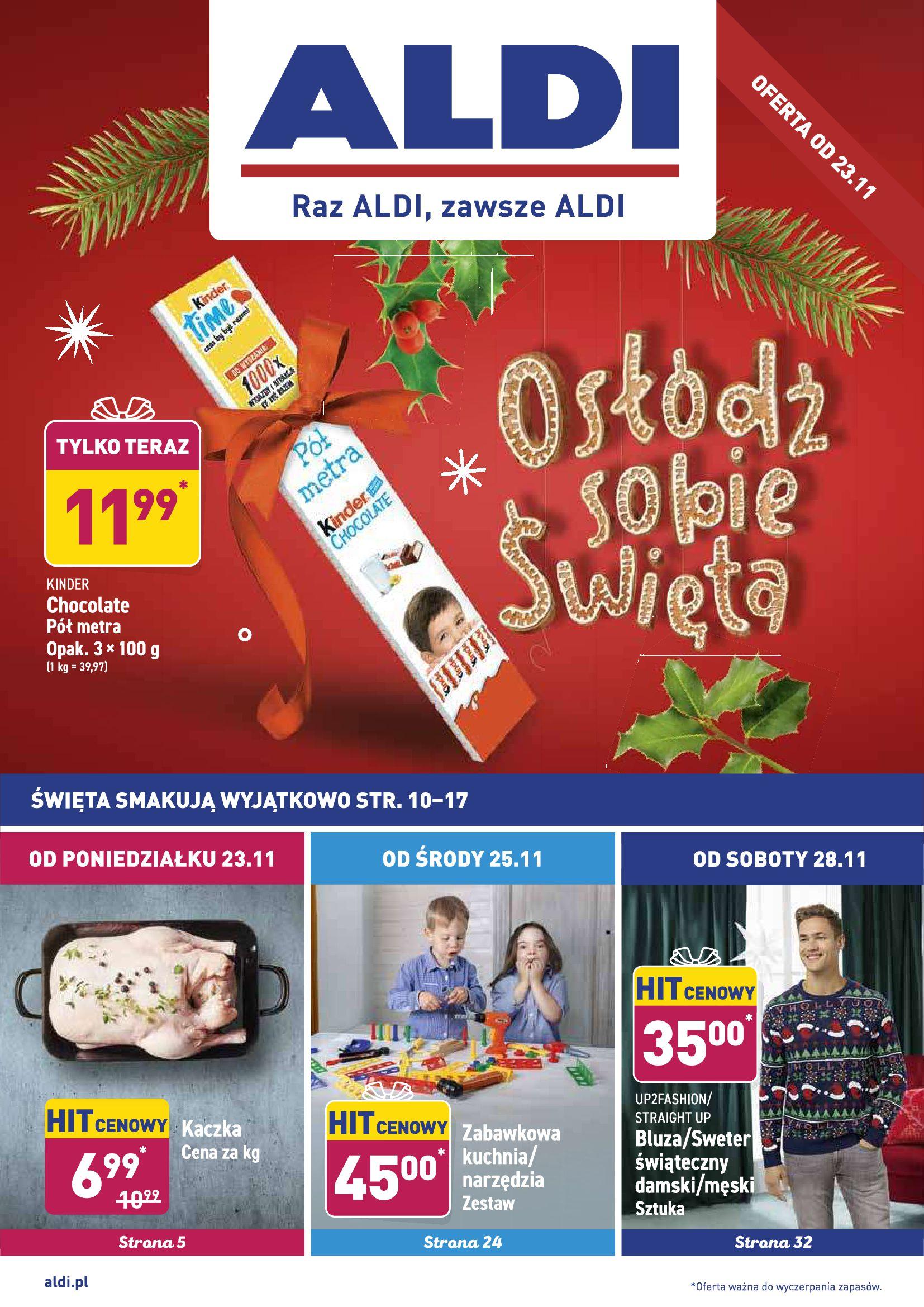 Gazetka Aldi - Gazetka promocyjna od 23.11-22.11.2020-27.11.2020-page-1