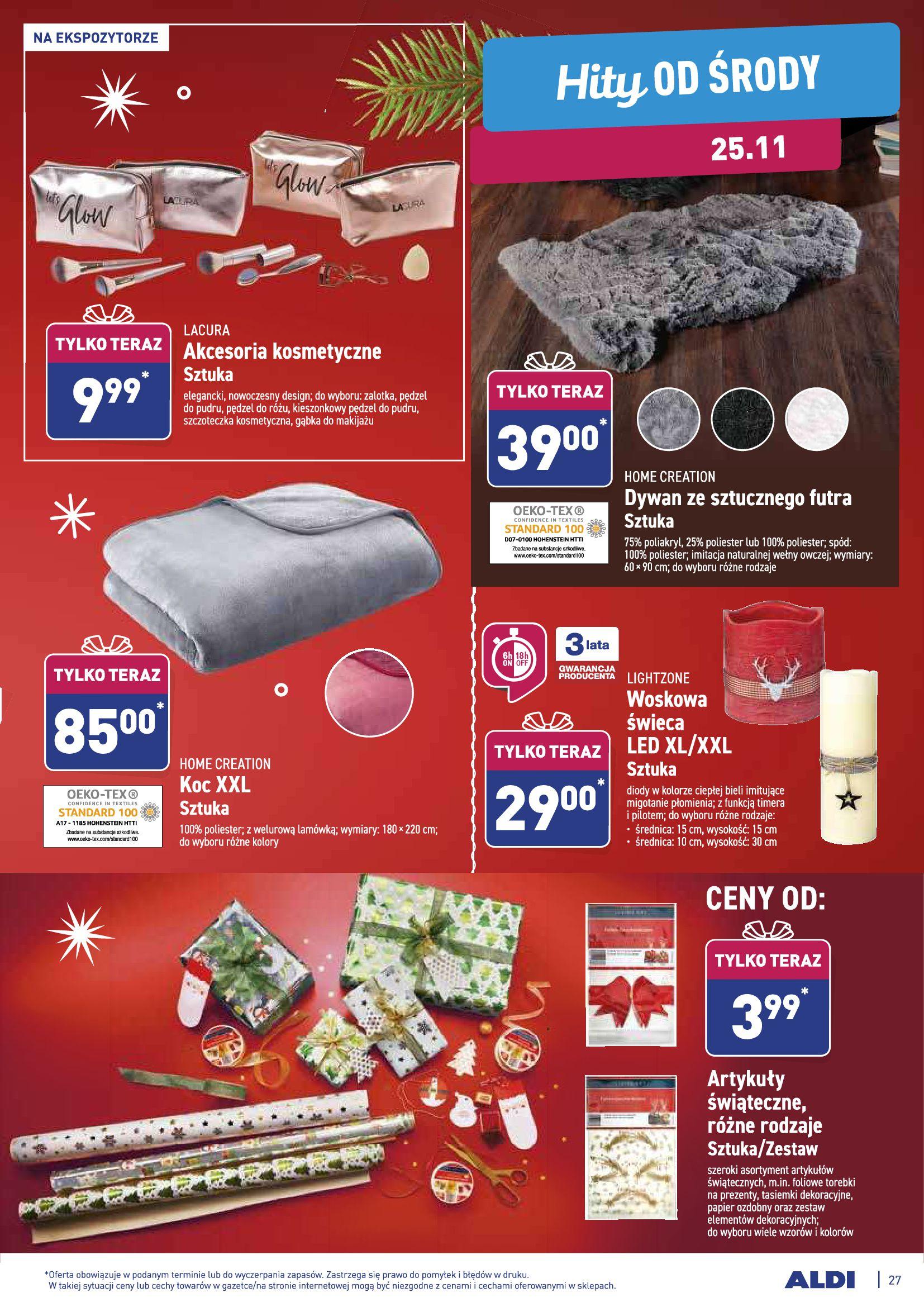 Gazetka Aldi - Gazetka promocyjna od 23.11-22.11.2020-27.11.2020-page-27