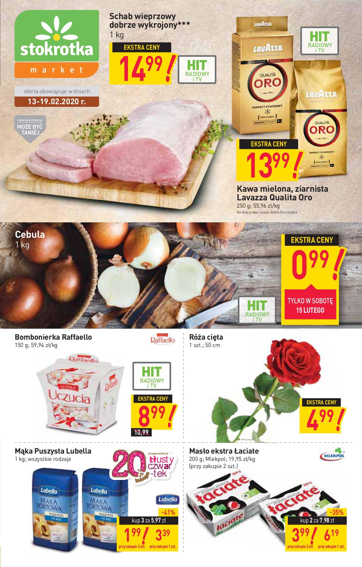 Gazetka Stokrotka Market - W tym tygodniu-12.02.2020-19.02.2020-page-1