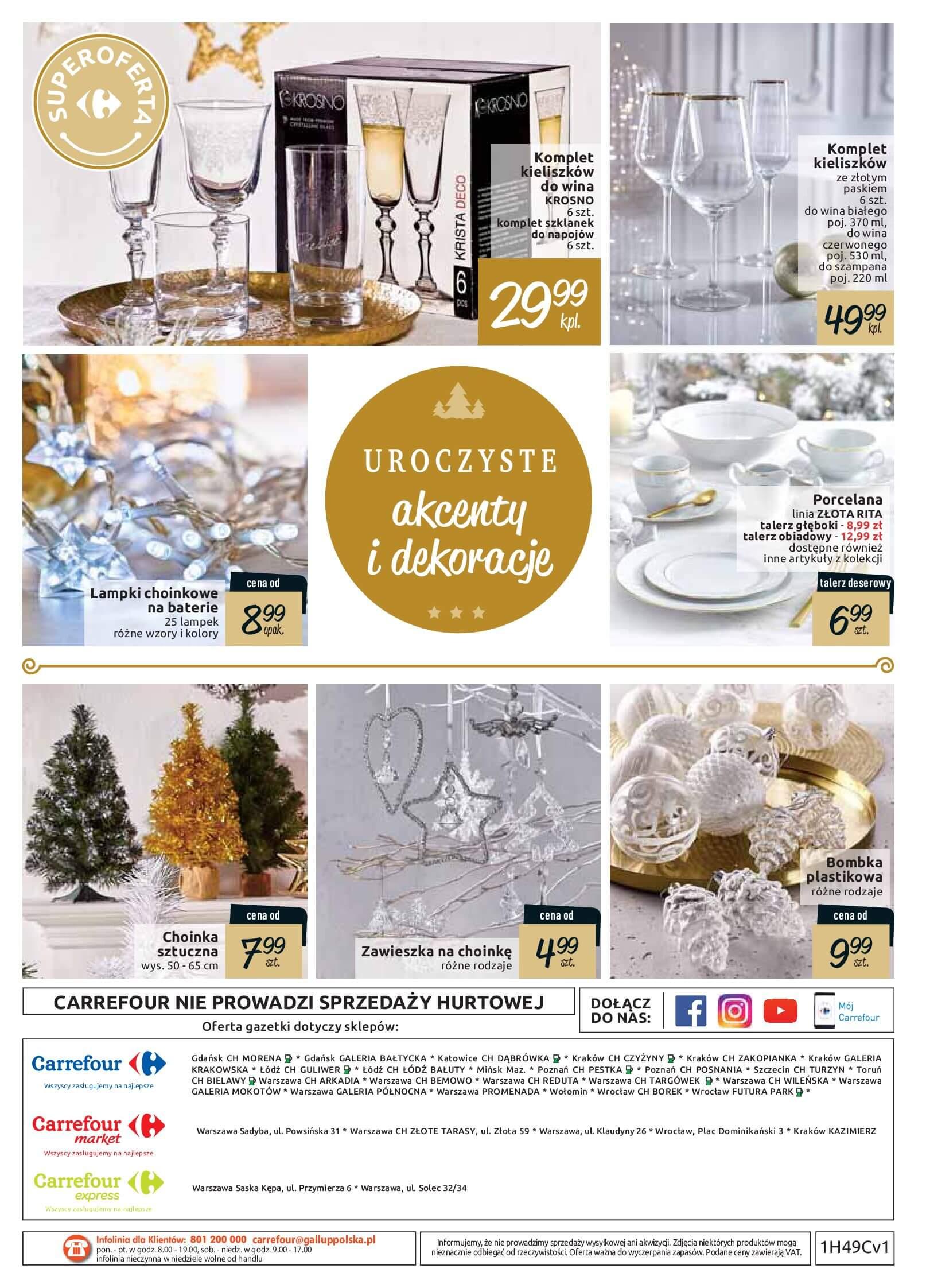 Gazetka Carrefour - Te święta będą jeszcze lepsze-02.12.2018-24.12.2018-page-