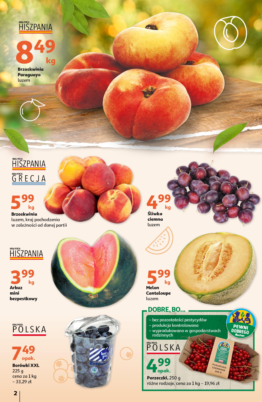 Gazetka Auchan: Gazetka Auchan - Tak smakuje lato Hipermarkety 2021-07-22 page-2