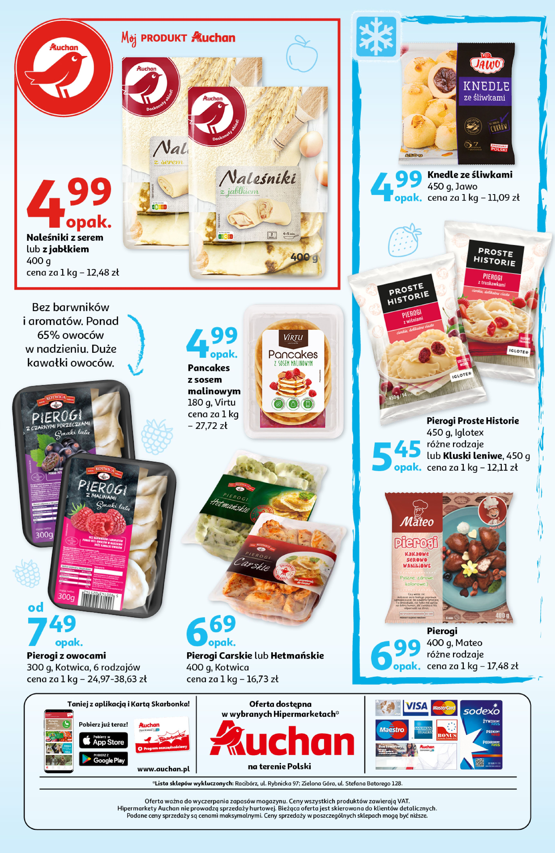 Gazetka Auchan: Gazetka Auchan - Tak smakuje lato Hipermarkety 2021-07-22 page-3
